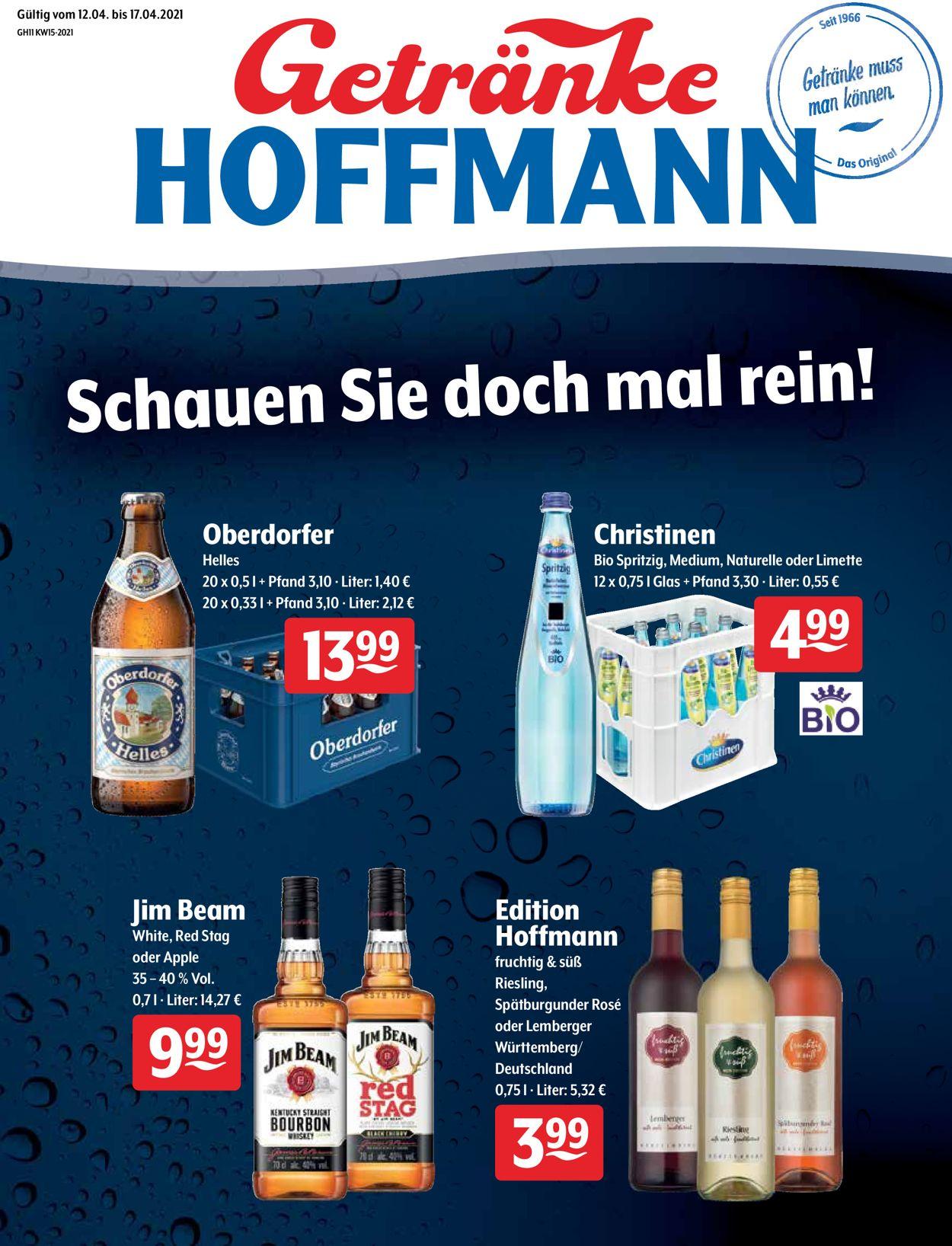 Getränke Hoffmann Prospekt - Aktuell vom 12.04-17.04.2021