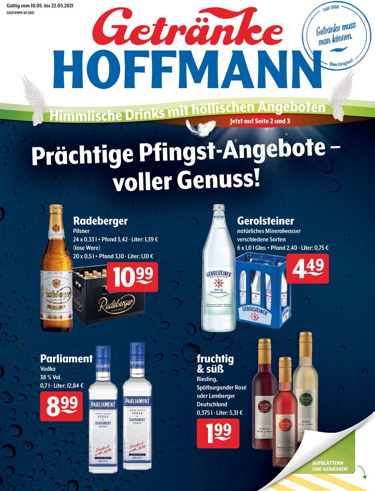 Getränke Hoffmann Prospekt - Aktuell vom 10.05-22.05.2021