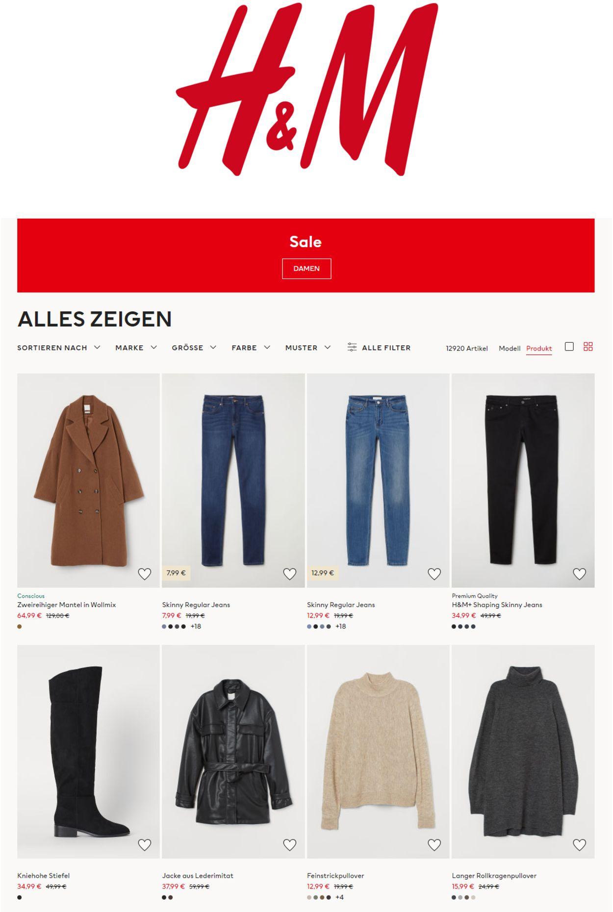 H&M - Black Friday 2020 Prospekt - Aktuell vom 13.11-26.11.2020