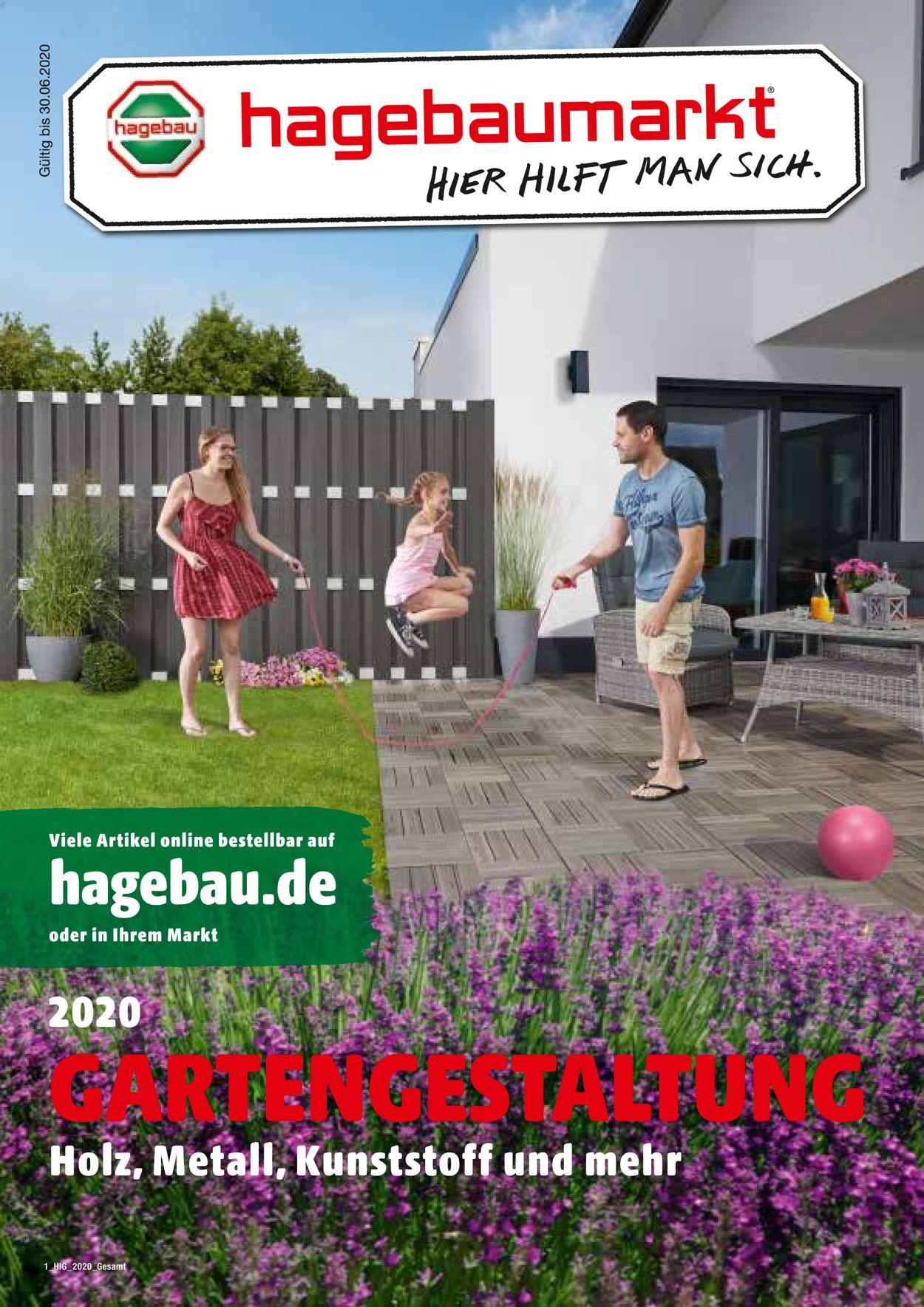 hagebaumarkt Prospekt - Aktuell vom 01.06-30.06.2020
