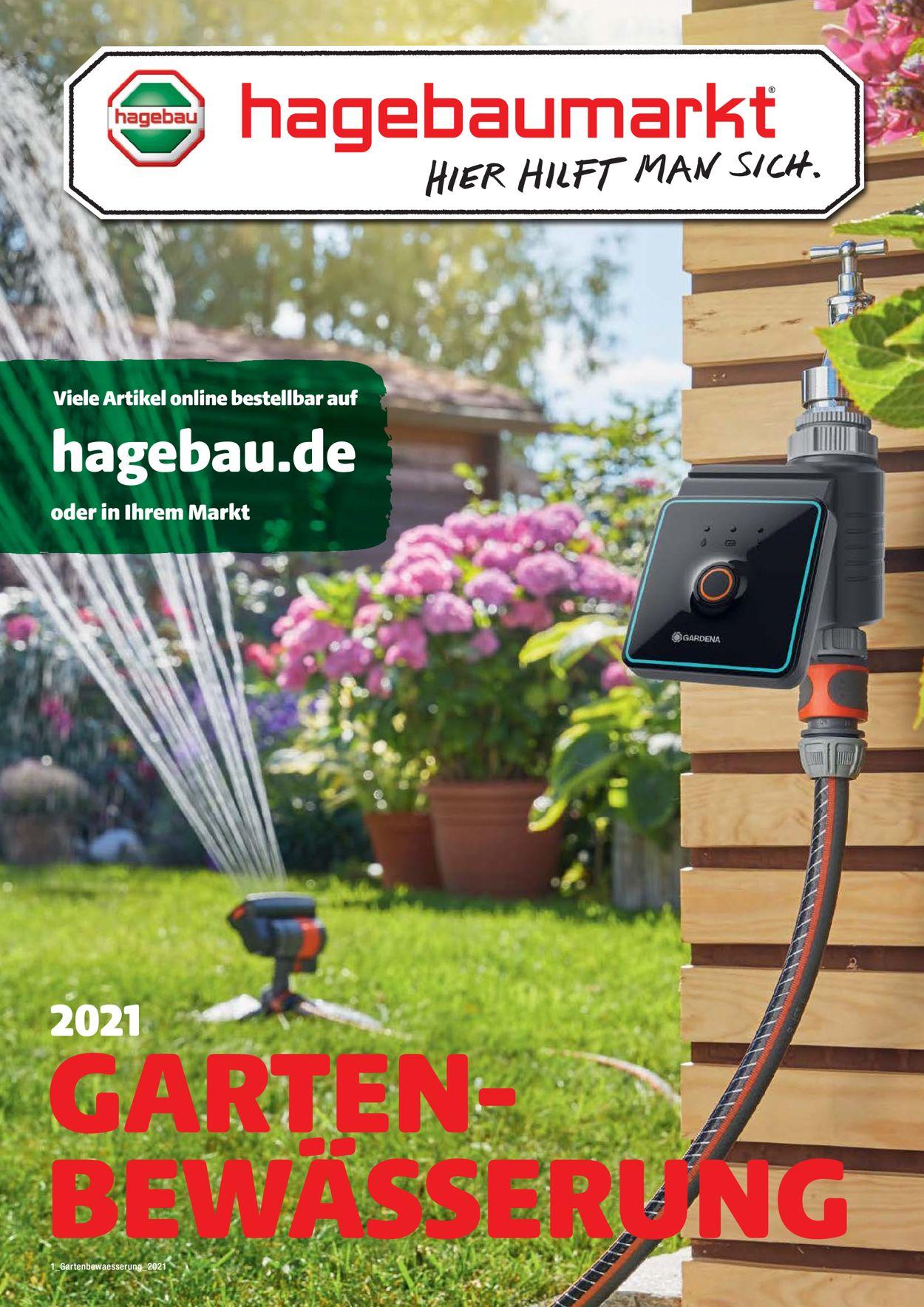 hagebaumarkt Gartenbewässerung Prospekt - Aktuell vom 01.03-31.05.2021