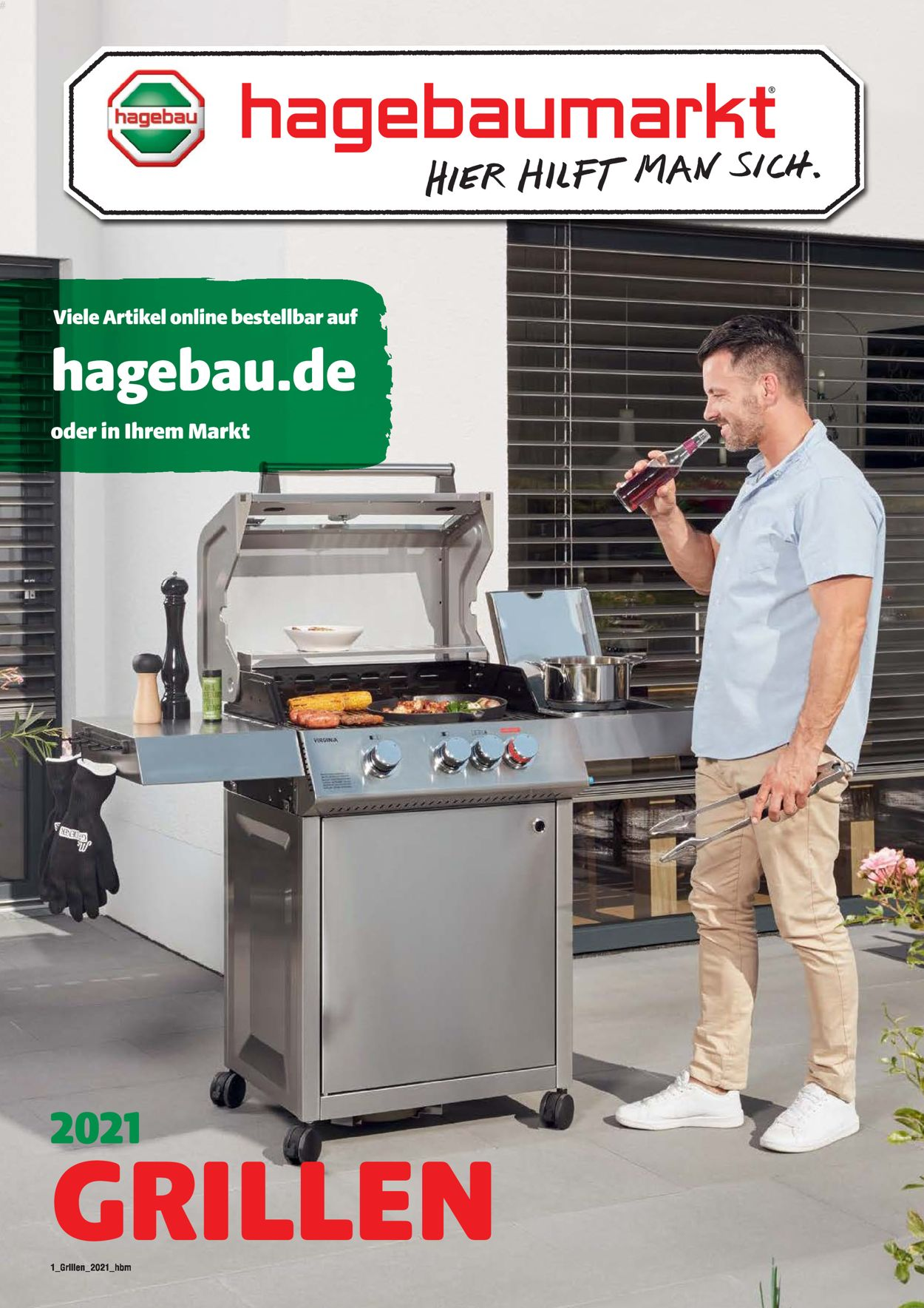 hagebaumarkt Grillen Prospekt - Aktuell vom 01.03-30.06.2021