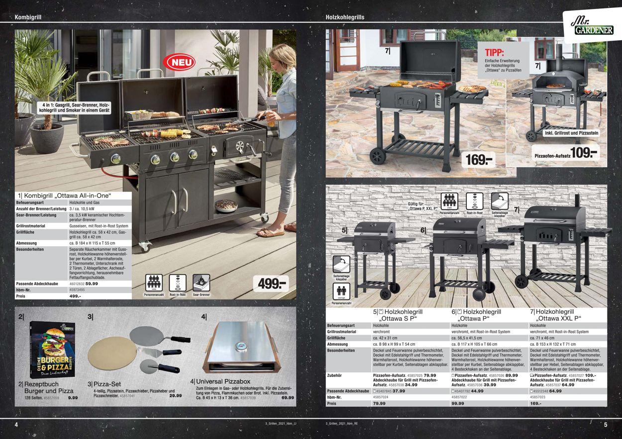 hagebaumarkt Grillen Prospekt - Aktuell vom 01.03-30.06.2021 (Seite 3)