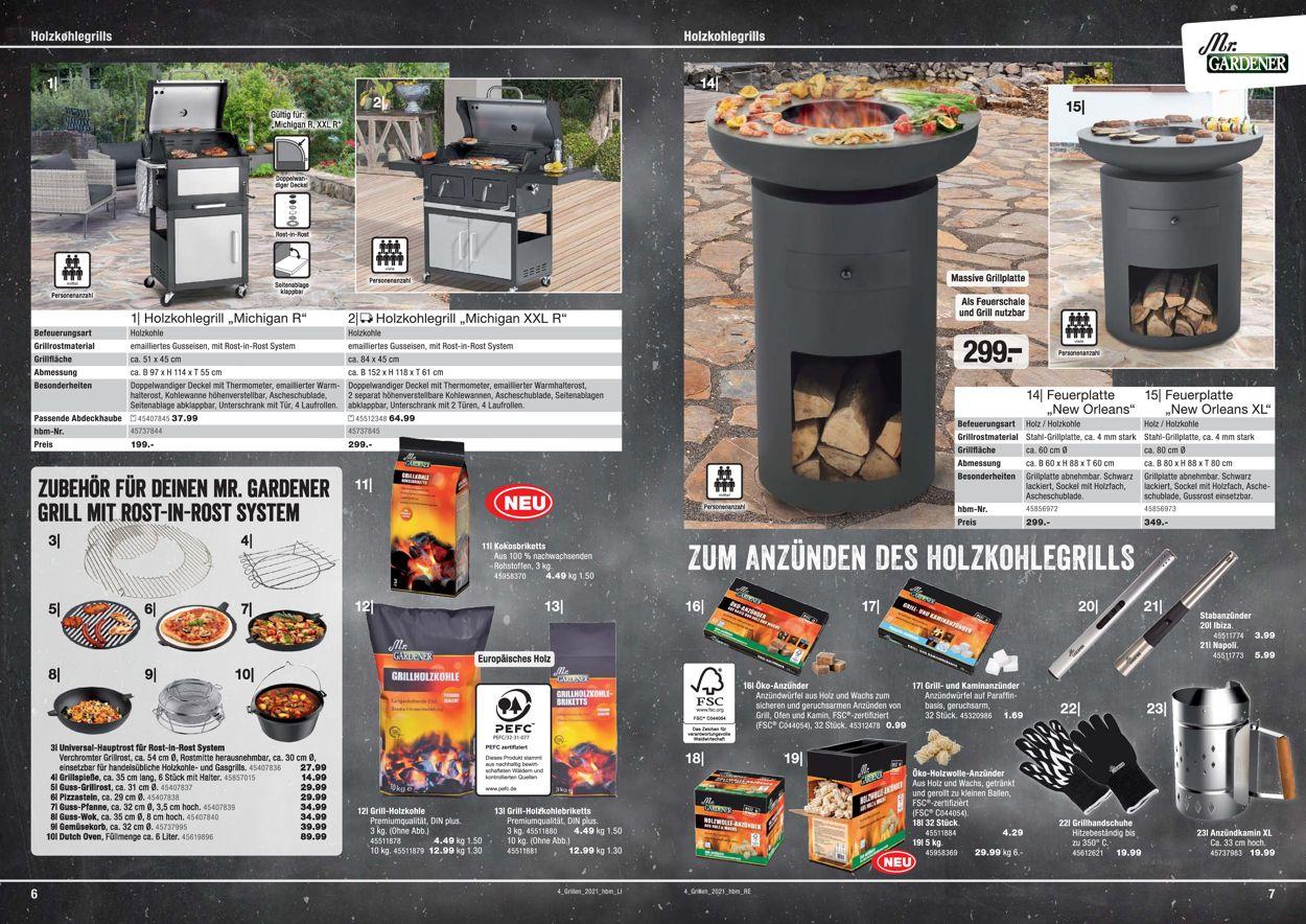 hagebaumarkt Grillen Prospekt - Aktuell vom 01.03-30.06.2021 (Seite 4)