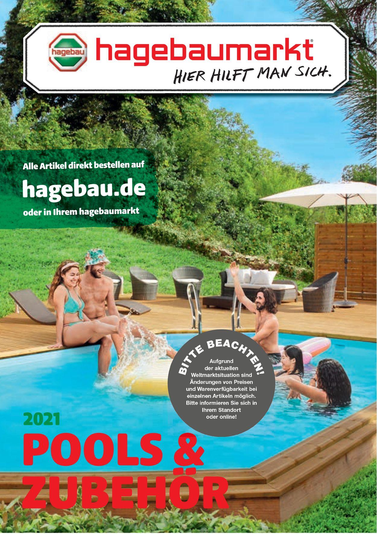 hagebaumarkt Pool Prospekt - Aktuell vom 12.04-30.04.2021