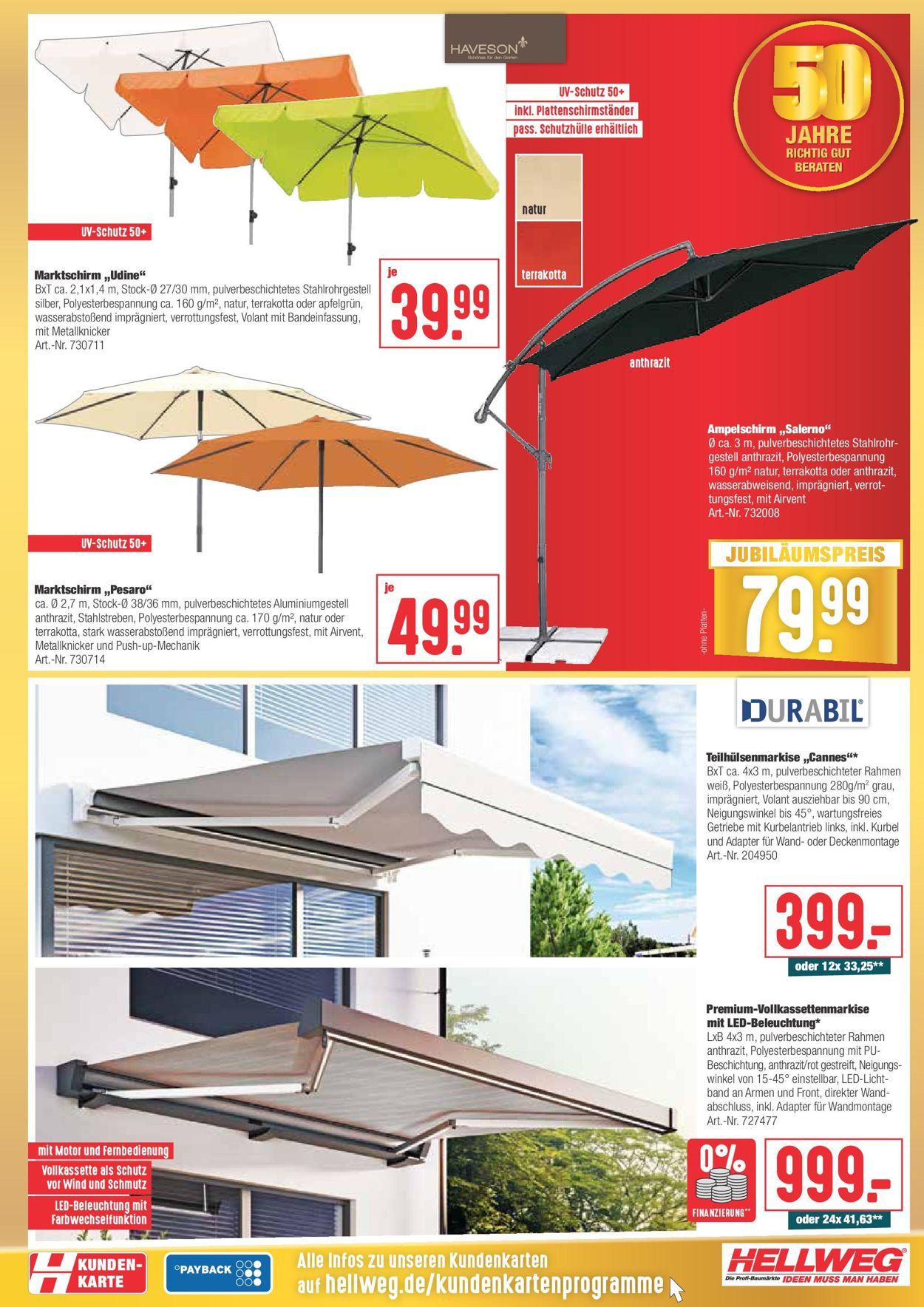 Hellweg Prospekt - Aktuell vom 19.07-24.07.2021 (Seite 3)