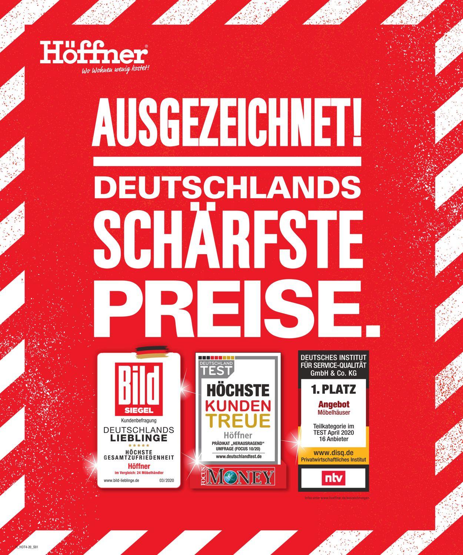 Höffner Prospekt - Aktuell vom 10.08-25.08.2020