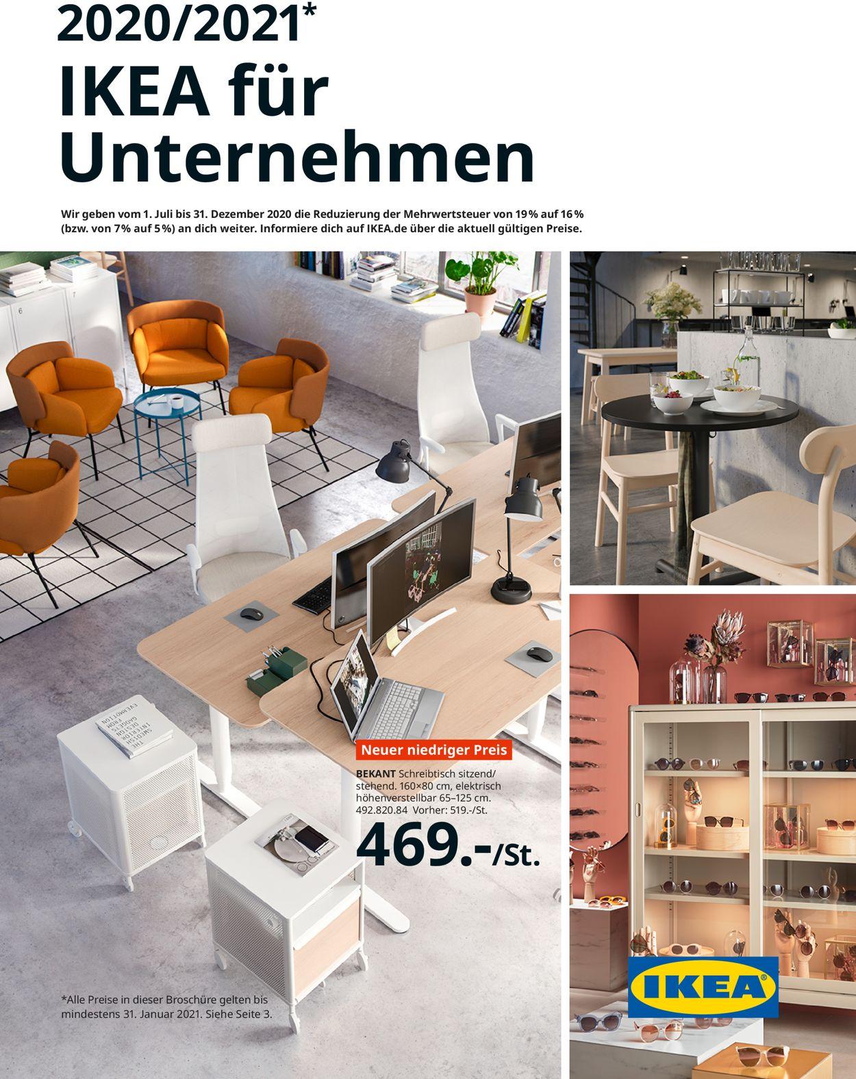 IKEA Prospekt - Aktuell vom 01.07-31.01.2021