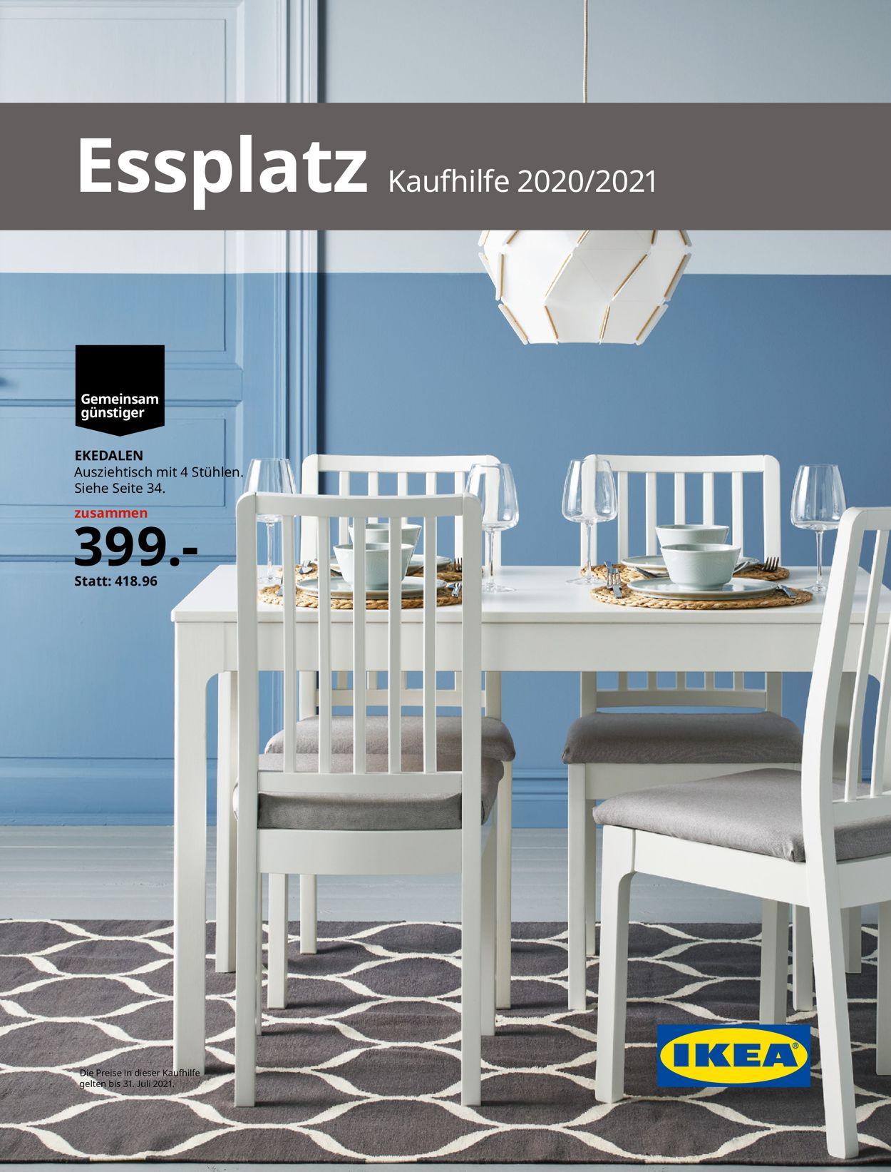 IKEA Prospekt - Aktuell vom 24.08-31.07.2021