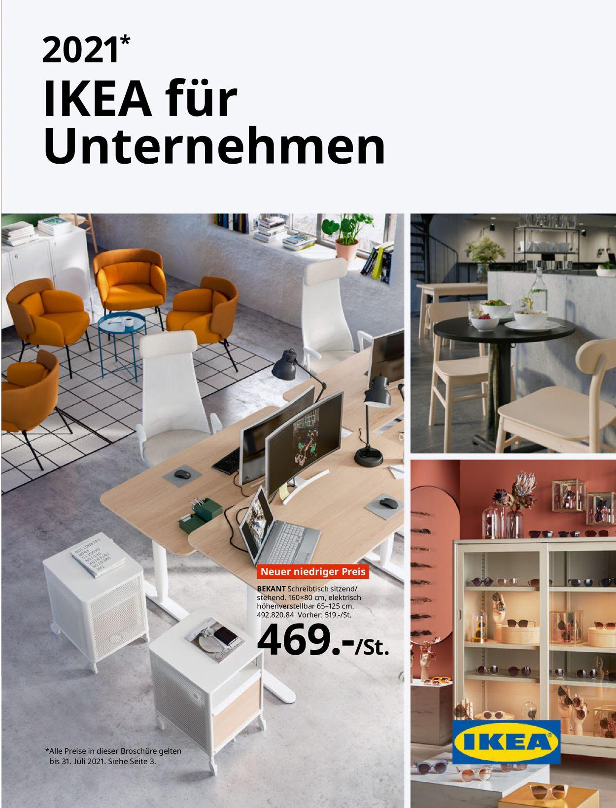 IKEA Prospekt - Aktuell vom 01.07-31.07.2021