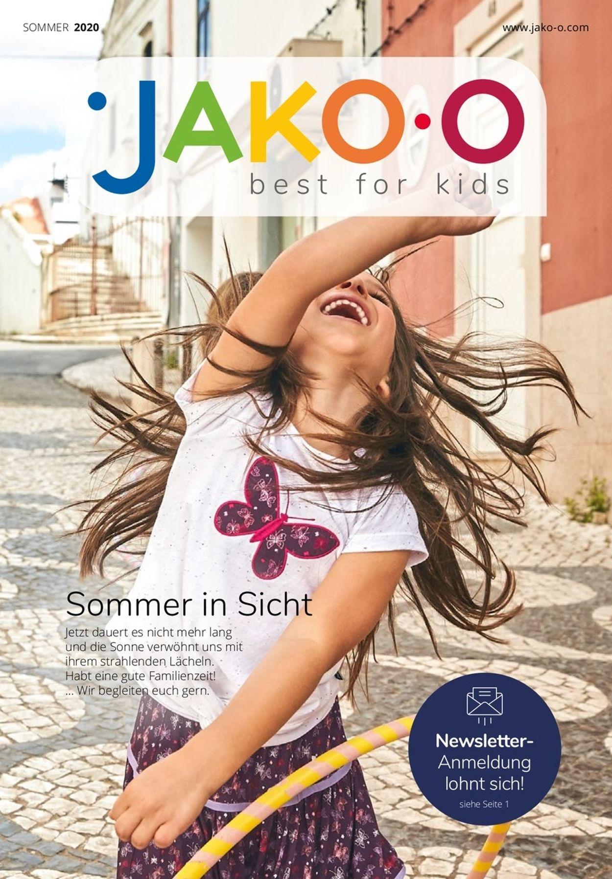 JAKO-O Prospekt - Aktuell vom 17.04-31.07.2020