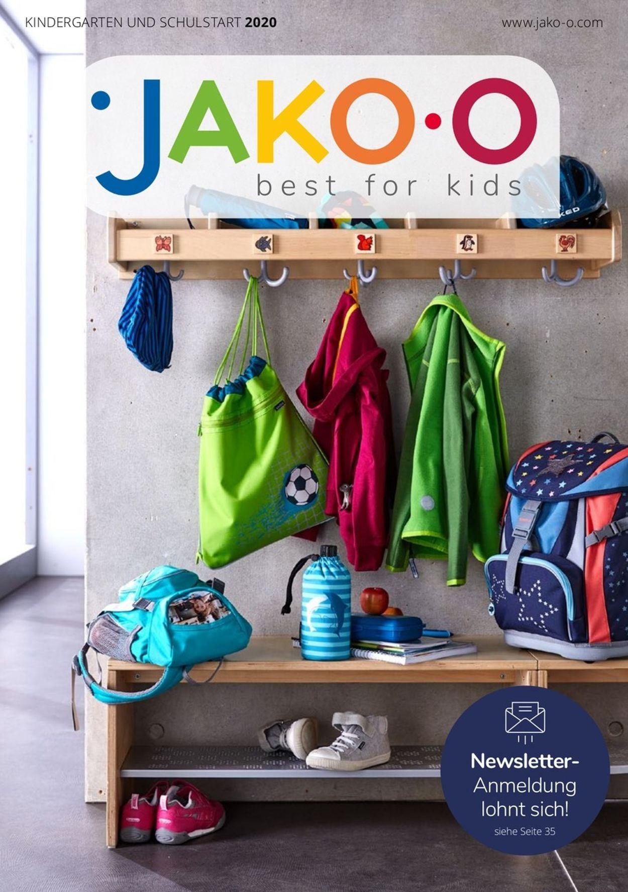 JAKO-O Prospekt - Aktuell vom 14.07-30.09.2020