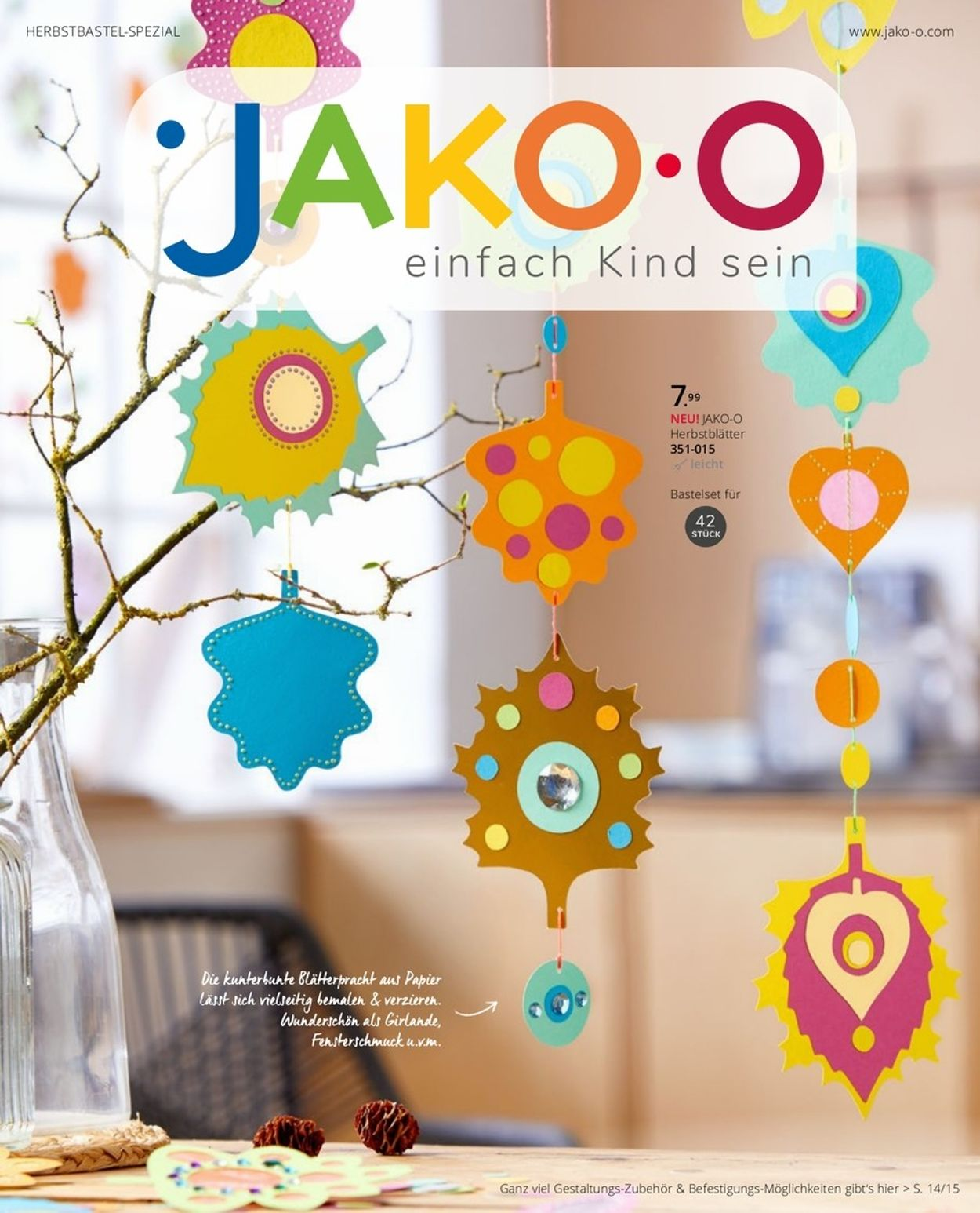 JAKO-O Prospekt - Aktuell vom 01.09-31.12.2020