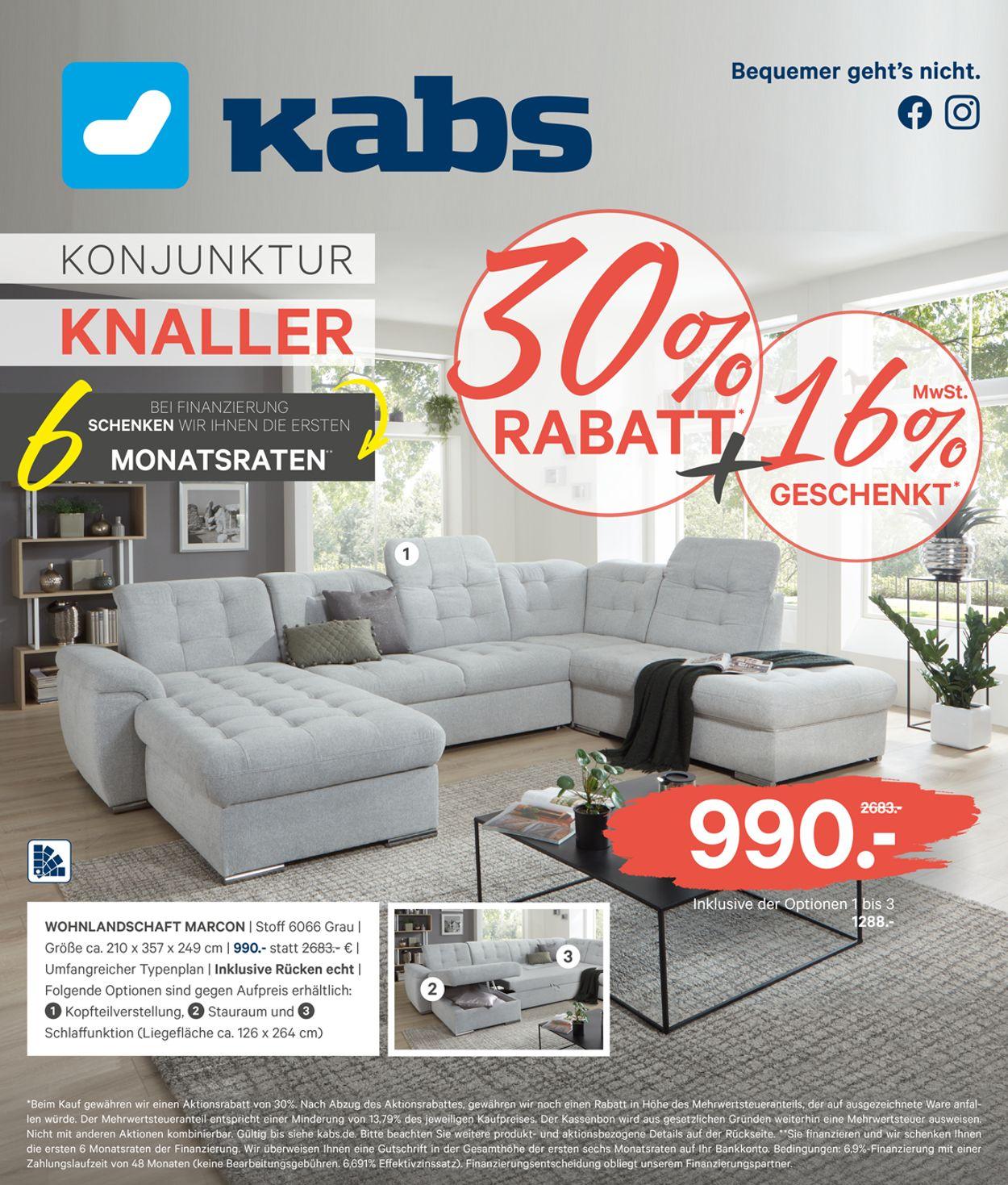 Kabs Prospekt - Aktuell vom 01.07-28.07.2020