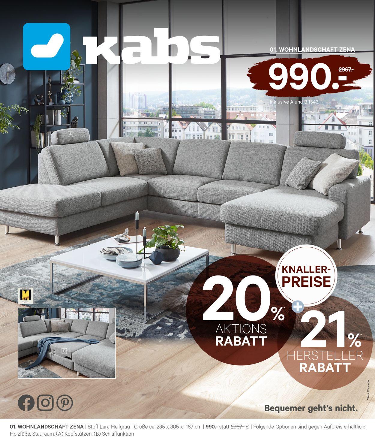 Kabs Prospekt - Aktuell vom 26.04-31.05.2021