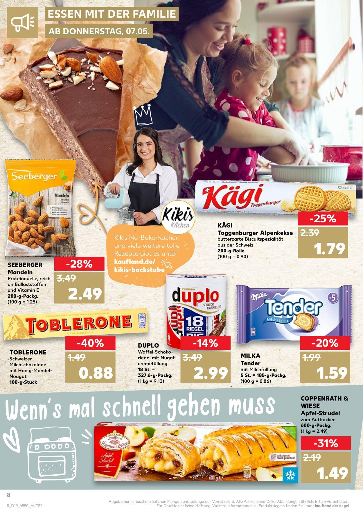 Kaufland Prospekt - 07.05 - 13.05.2020 (Seite 8) | Rabato