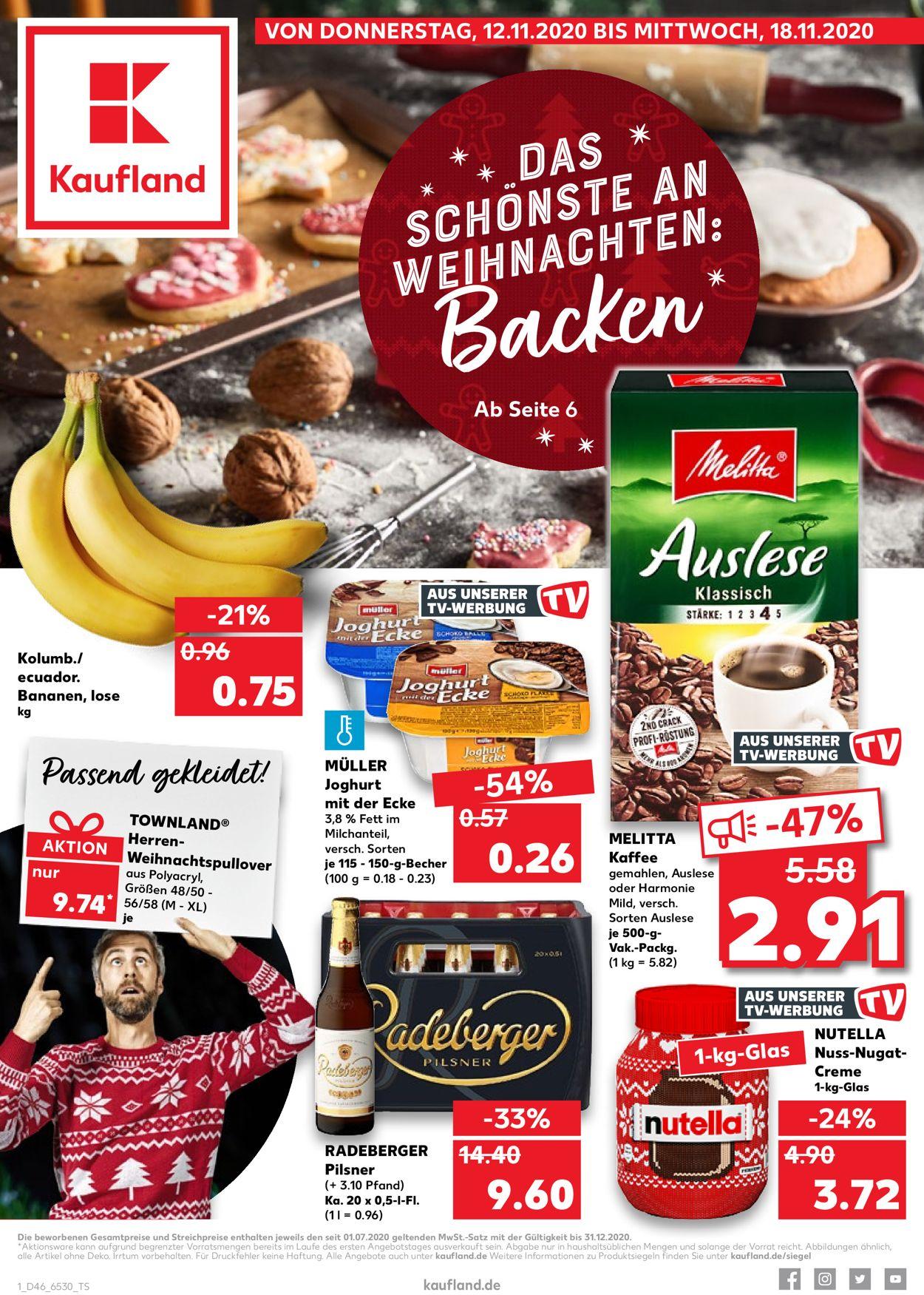 Kaufland Prospekt - Aktuell vom 12.11-18.11.2020