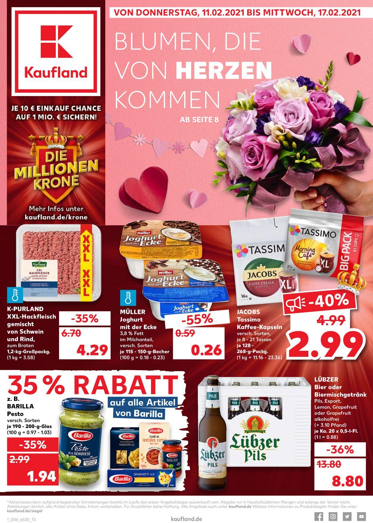 Kaufland Prospekt - Aktuell vom 11.02-17.02.2021