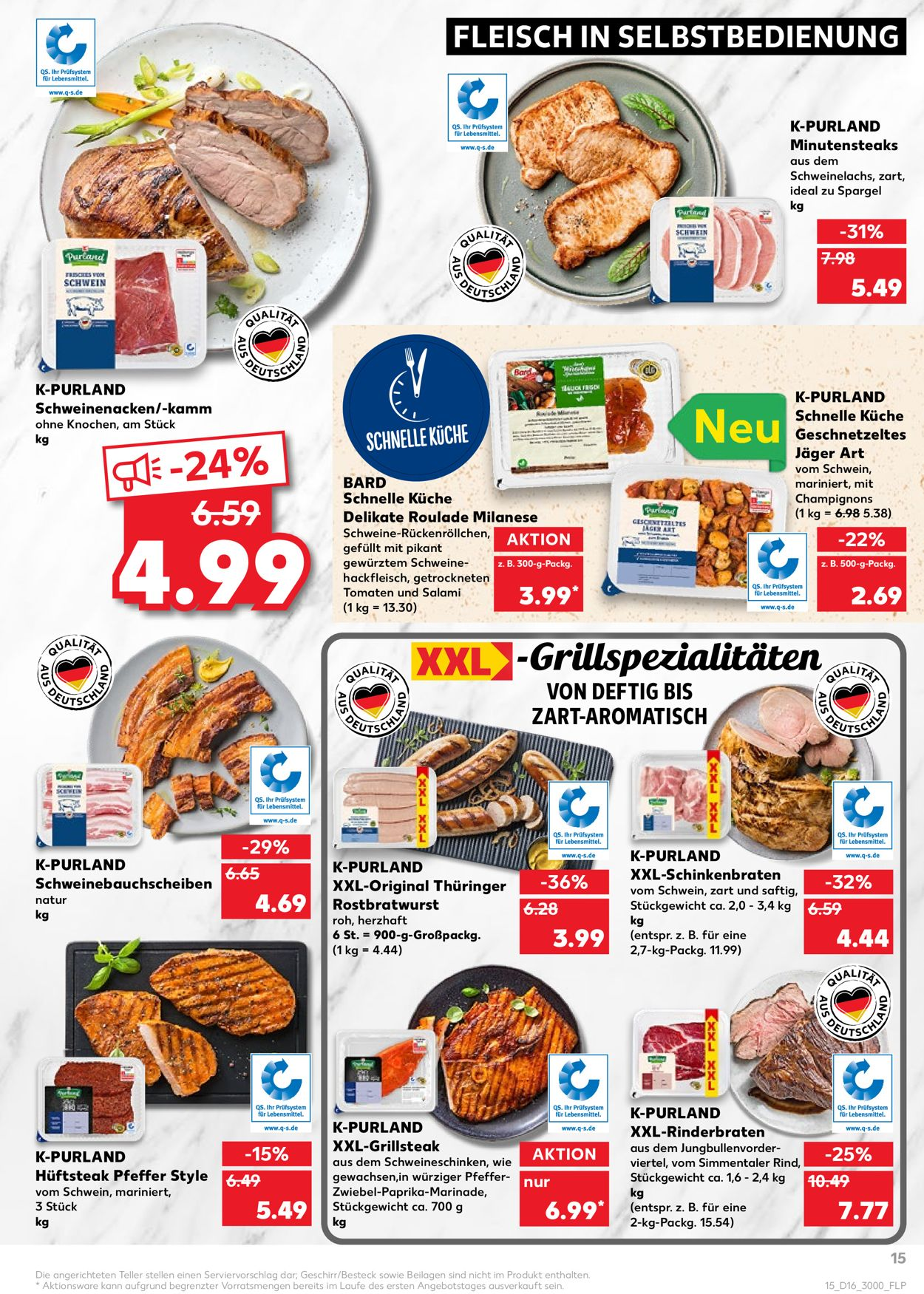 Kaufland Prospekt - Aktuell vom 22.04-28.04.2021 (Seite 15)