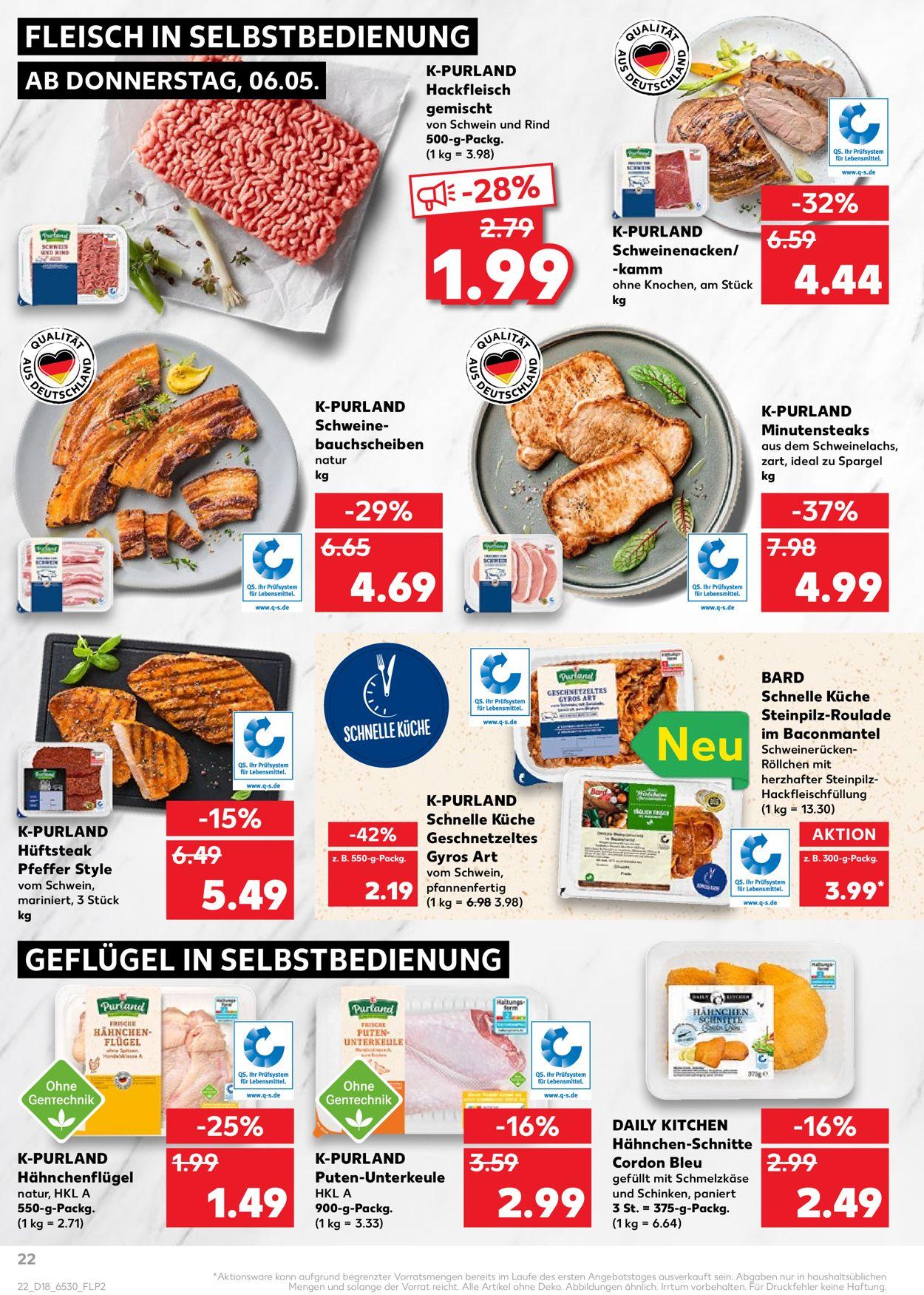 Kaufland Prospekt - Aktuell vom 06.05-12.05.2021 (Seite 22)