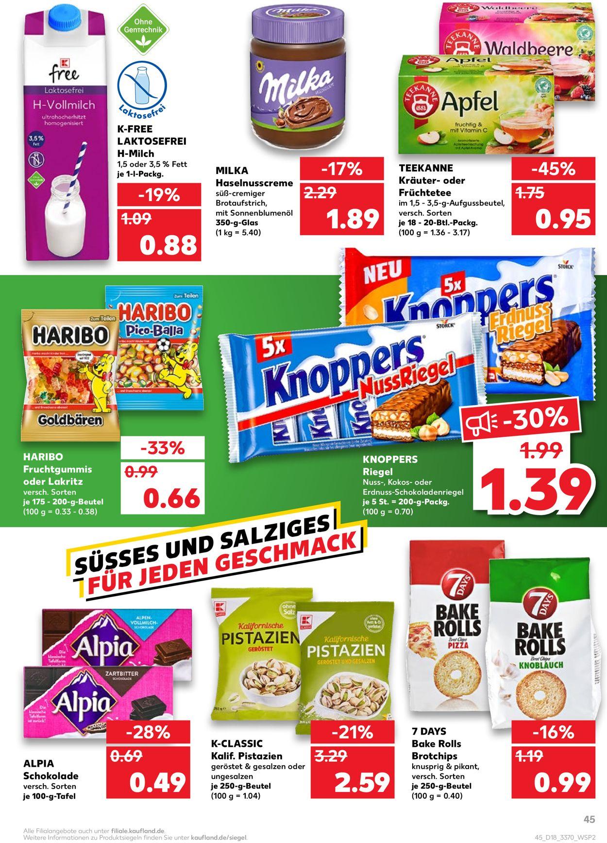 Kaufland Prospekt - Aktuell vom 06.05-12.05.2021 (Seite 45)