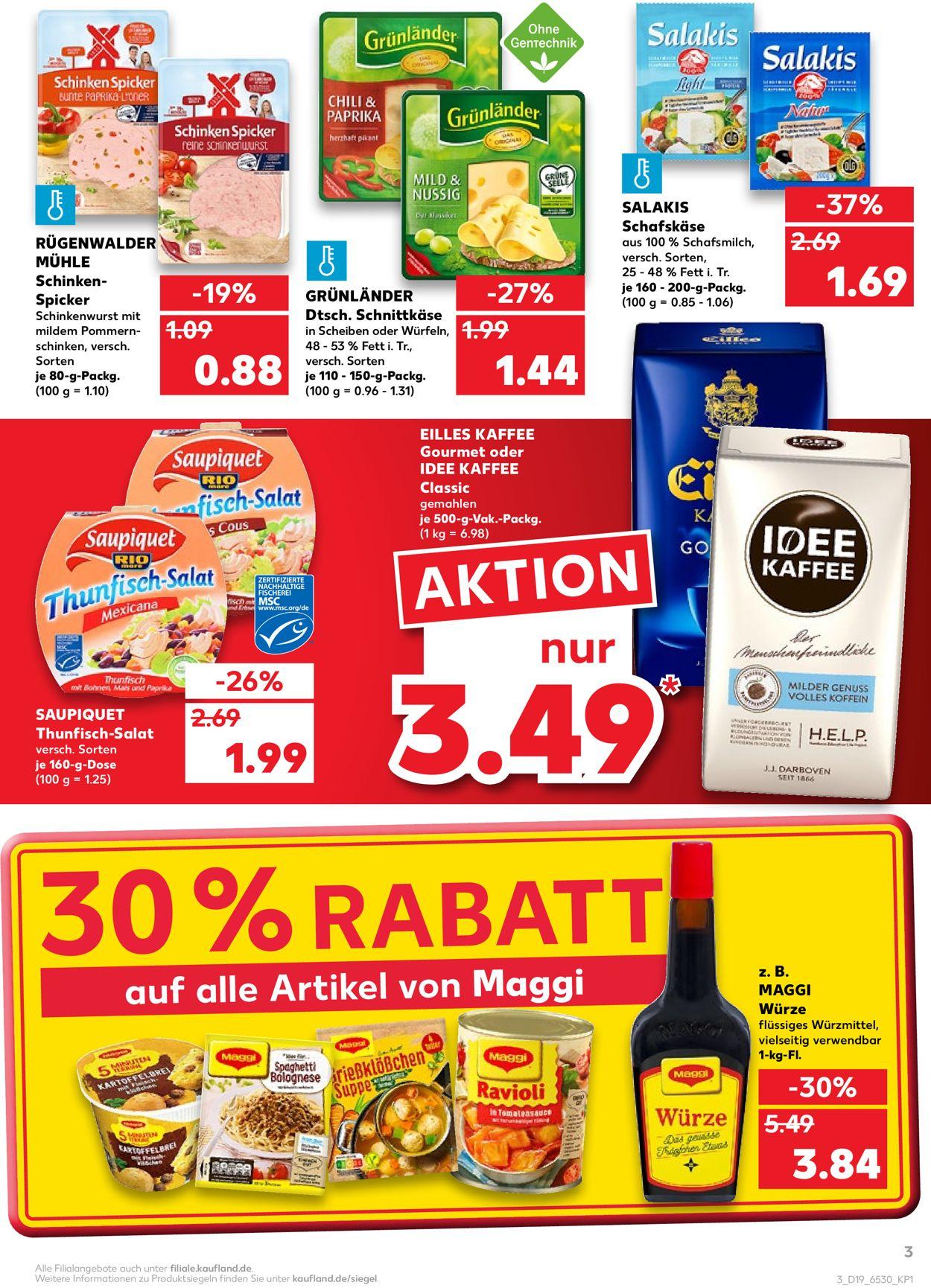 Kaufland Prospekt - Aktuell vom 14.05-19.05.2021 (Seite 3)