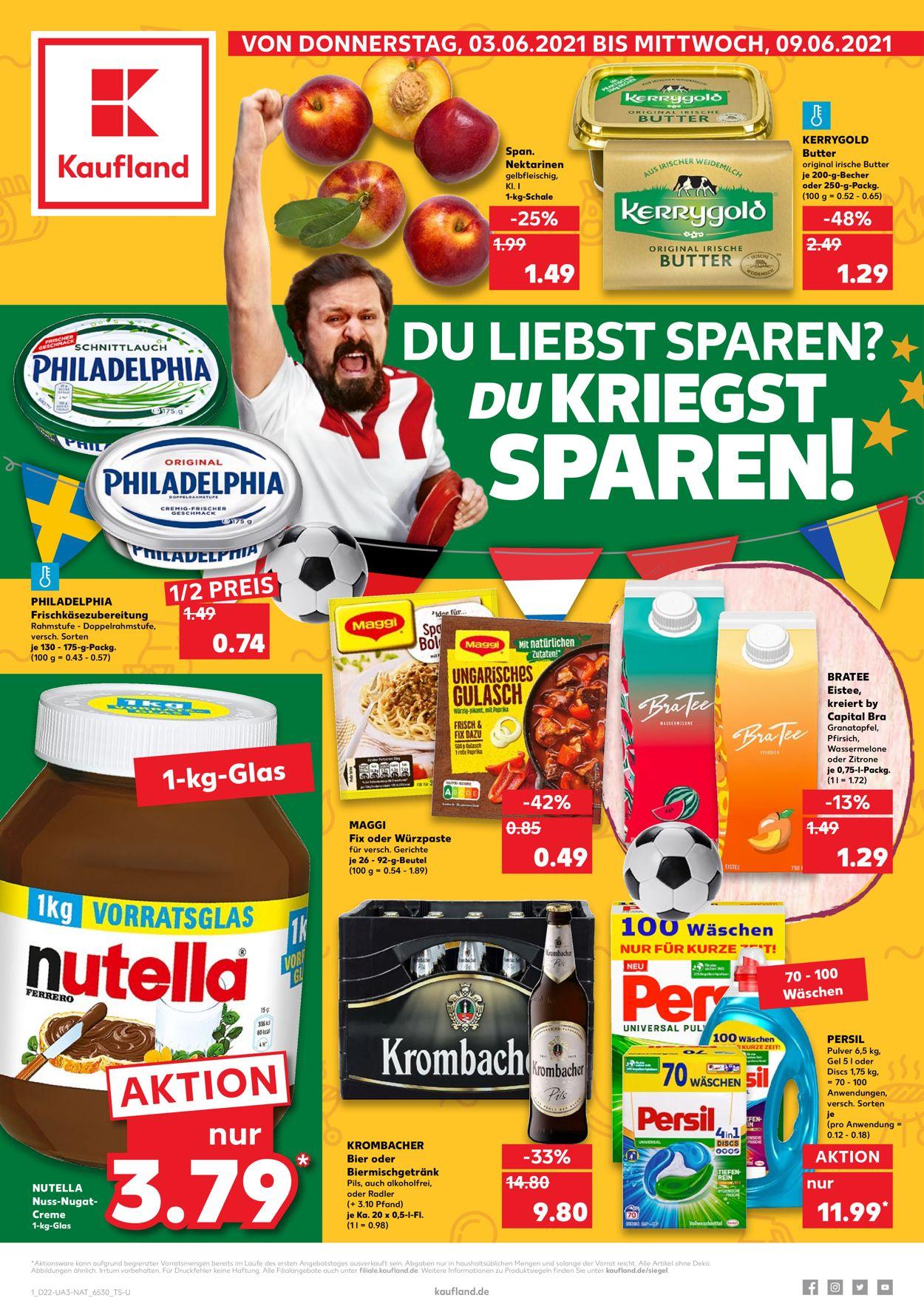 Kaufland Prospekt - Aktuell vom 03.06-09.06.2021