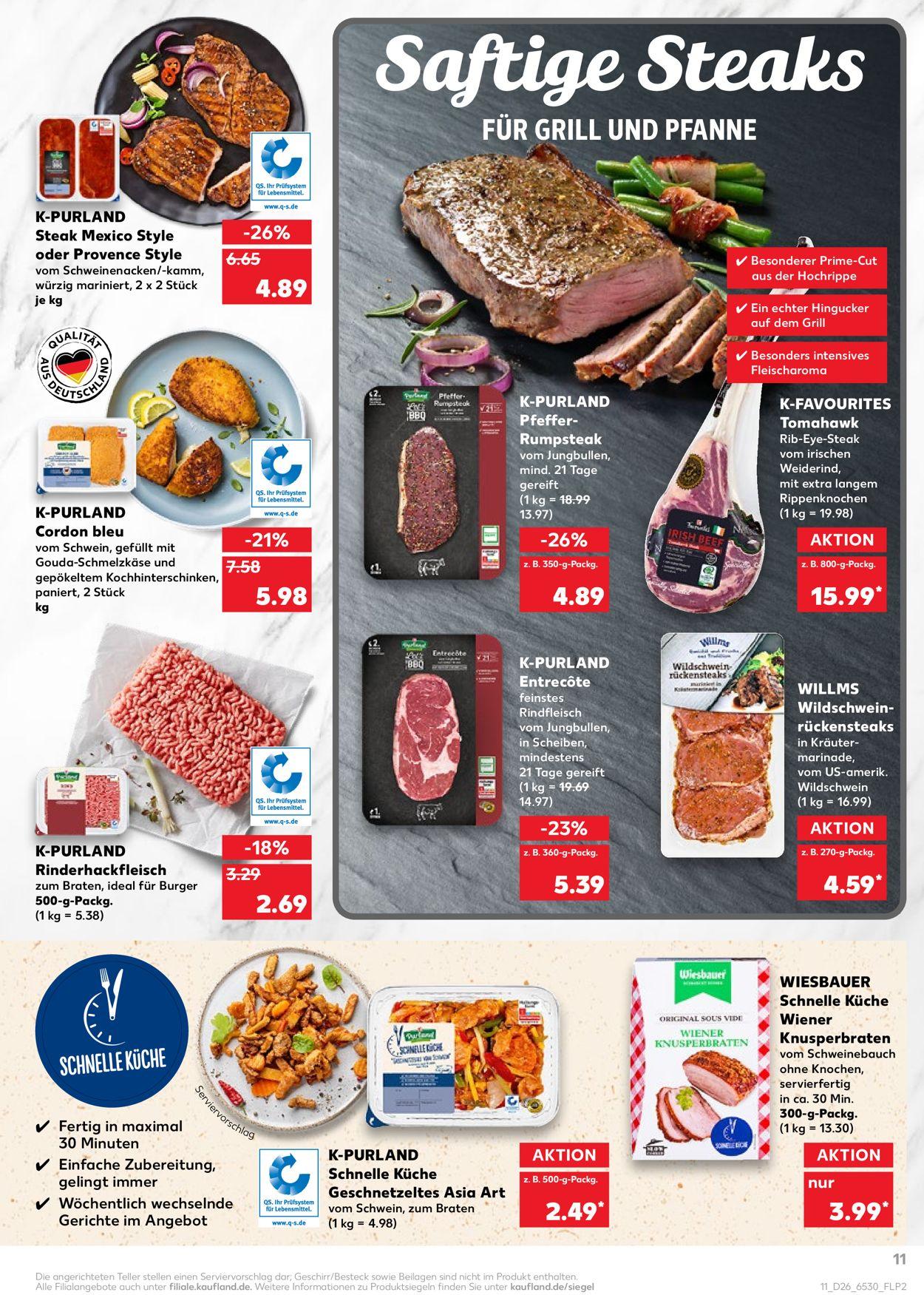 Kaufland Prospekt - Aktuell vom 01.07-07.07.2021 (Seite 11)