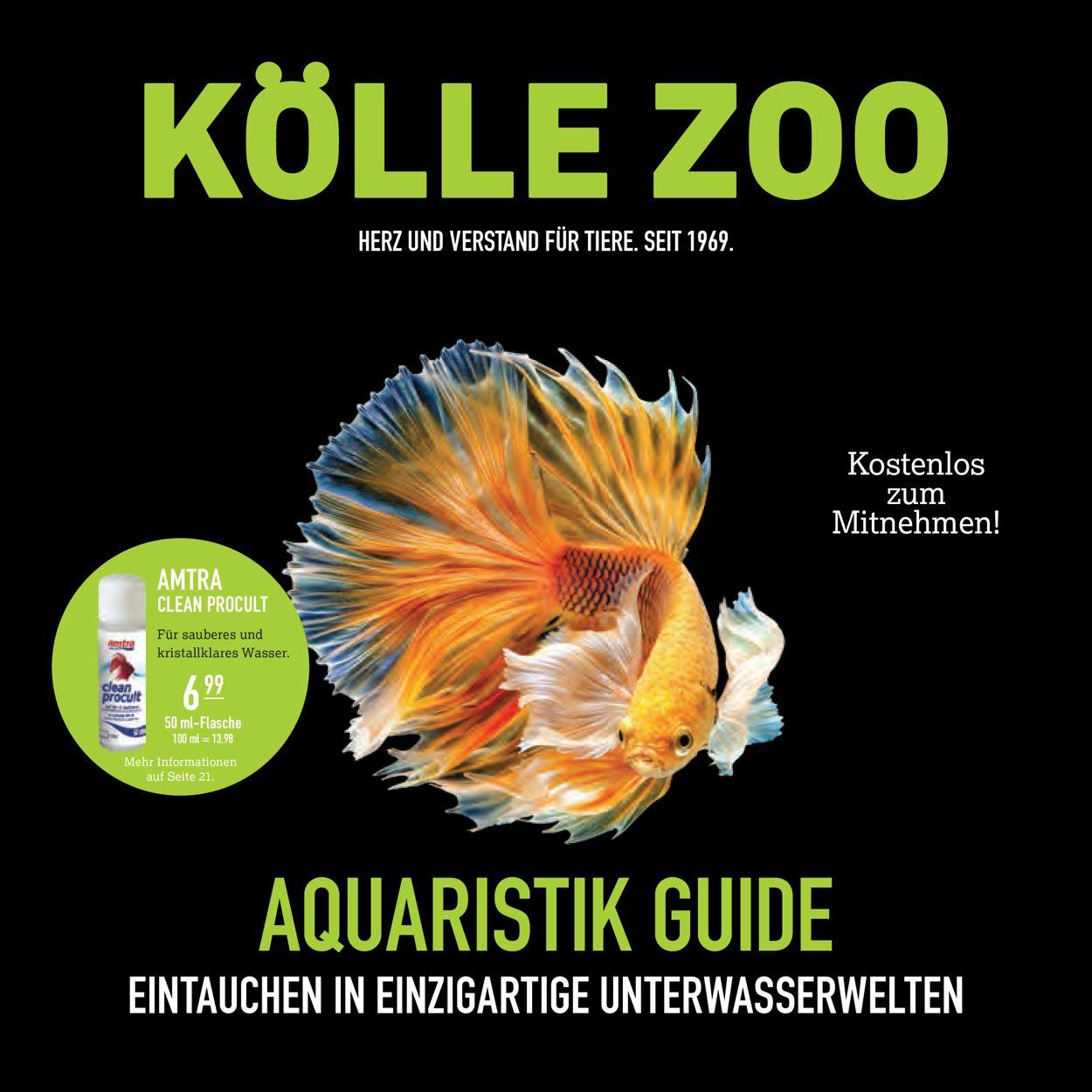 Kölle Zoo Prospekt - Aktuell vom 15.12-03.01.2021