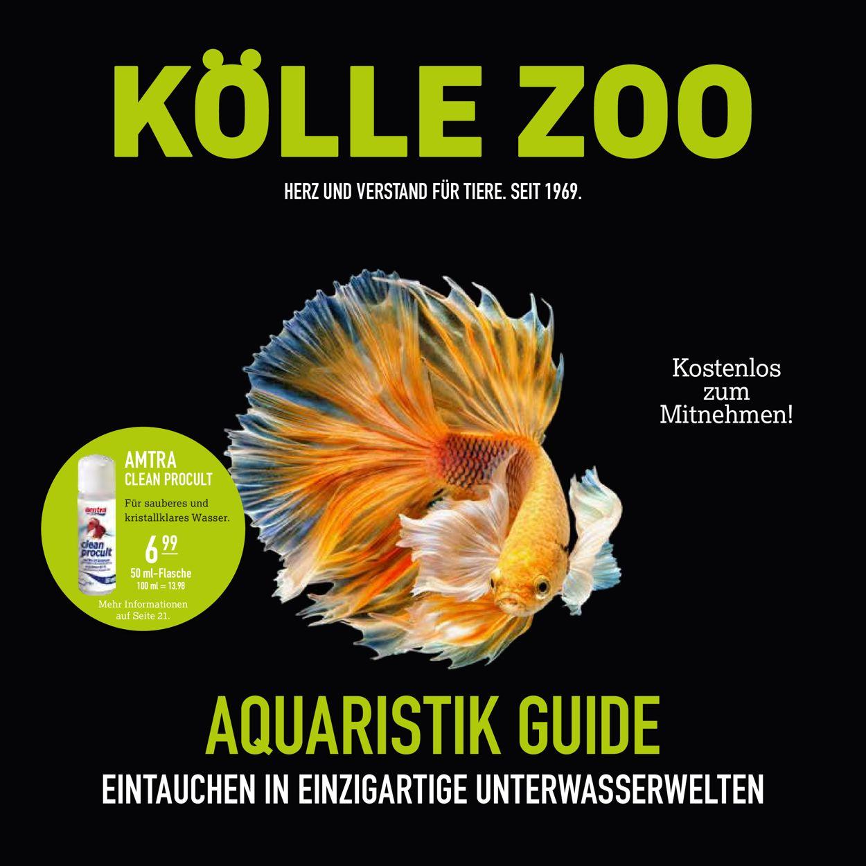 Kölle Zoo Prospekt - Aktuell vom 16.12-30.04.2021