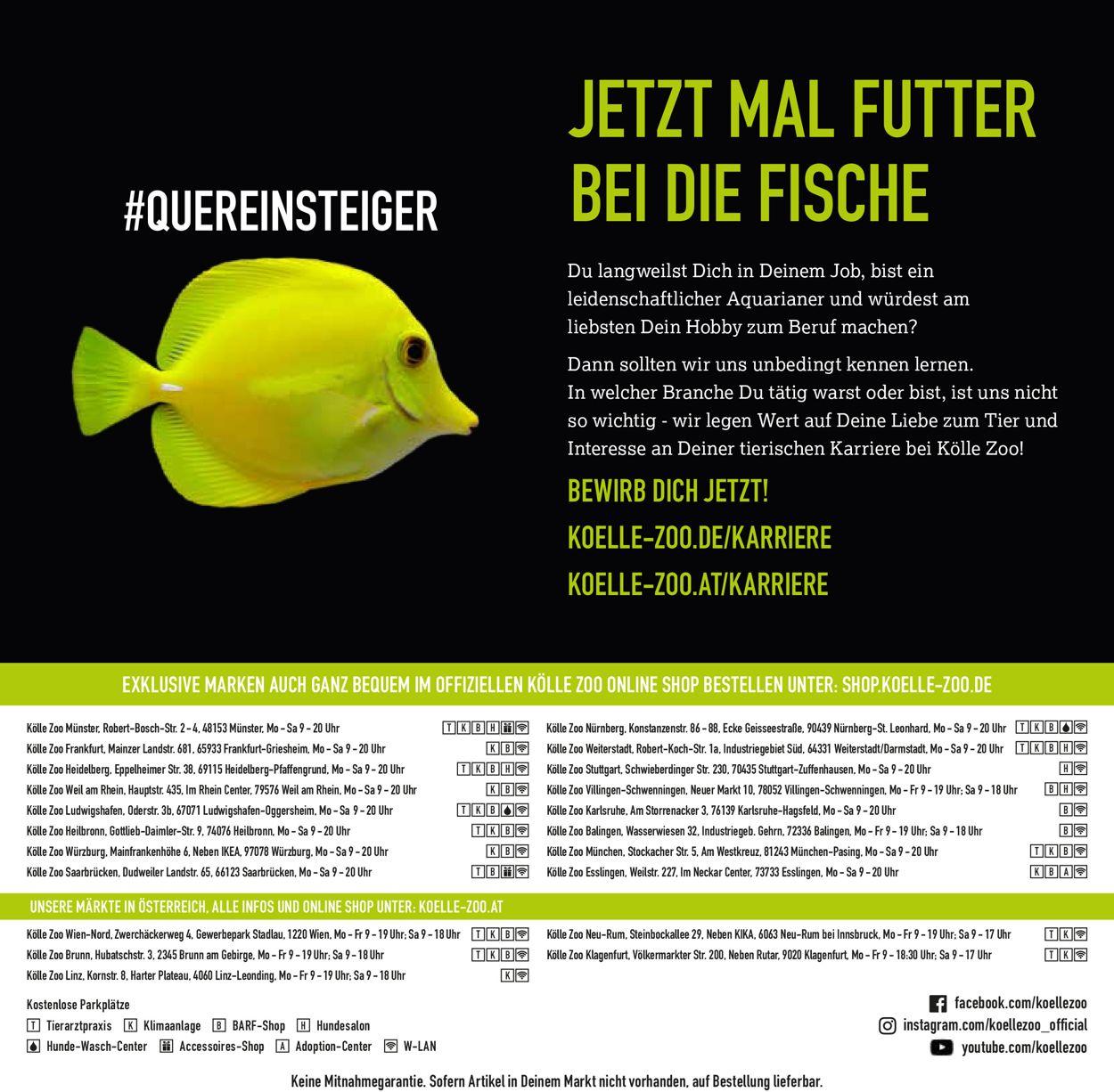 Kölle Zoo Prospekt - Aktuell vom 16.12-30.04.2021 (Seite 76)