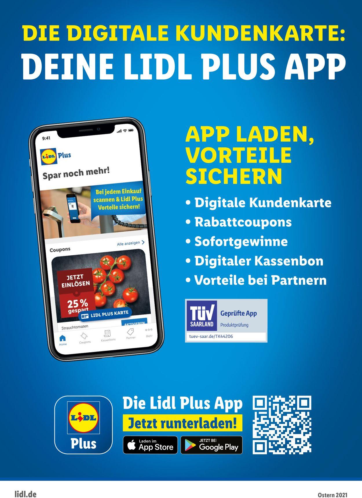 Lidl-Reisen Ostermagazin 2021 Prospekt - Aktuell vom 15.03-05.04.2021 (Seite 44)