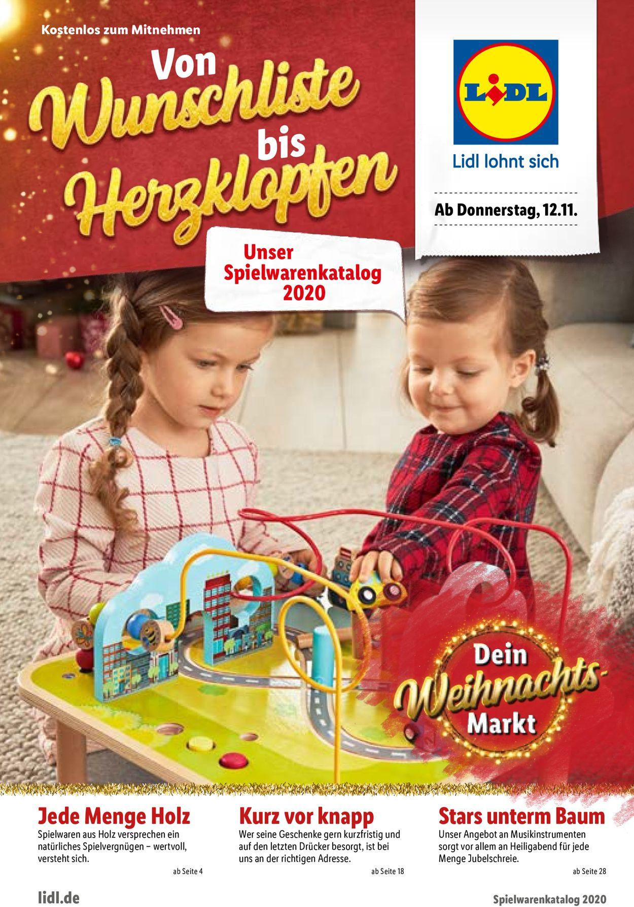 Lidl Weihnachten 2020 Prospekt - Aktuell vom 12.11-27.12.2020