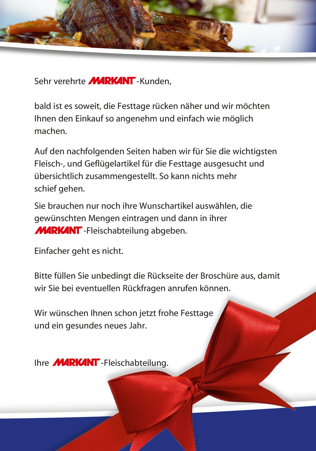 Markant Weihnachtsprospekt 2020 Prospekt - Aktuell vom 21.12-26.12.2020 (Seite 2)