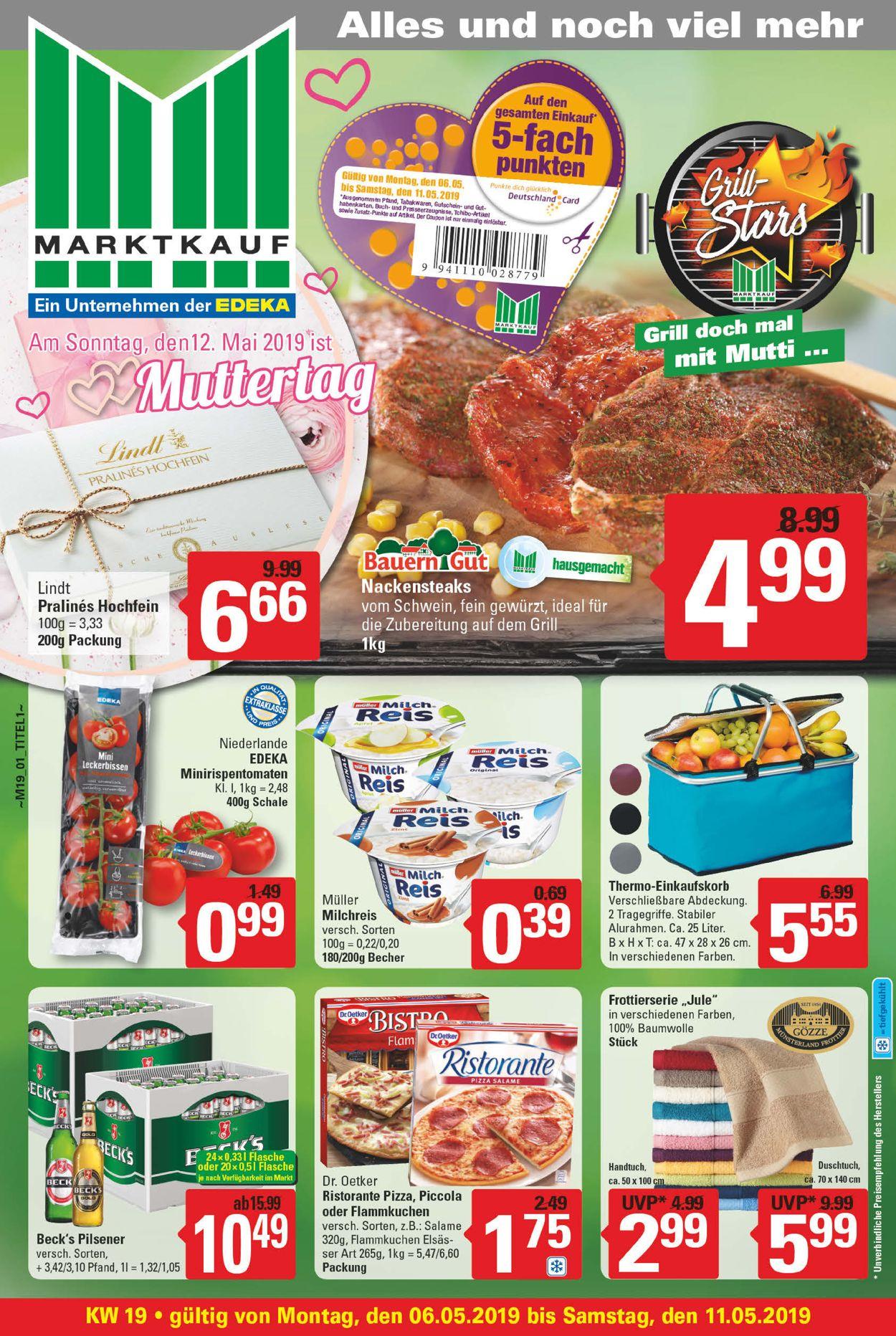 Marktkauf Prospekt - Aktuell vom 06.05-11.05.2019