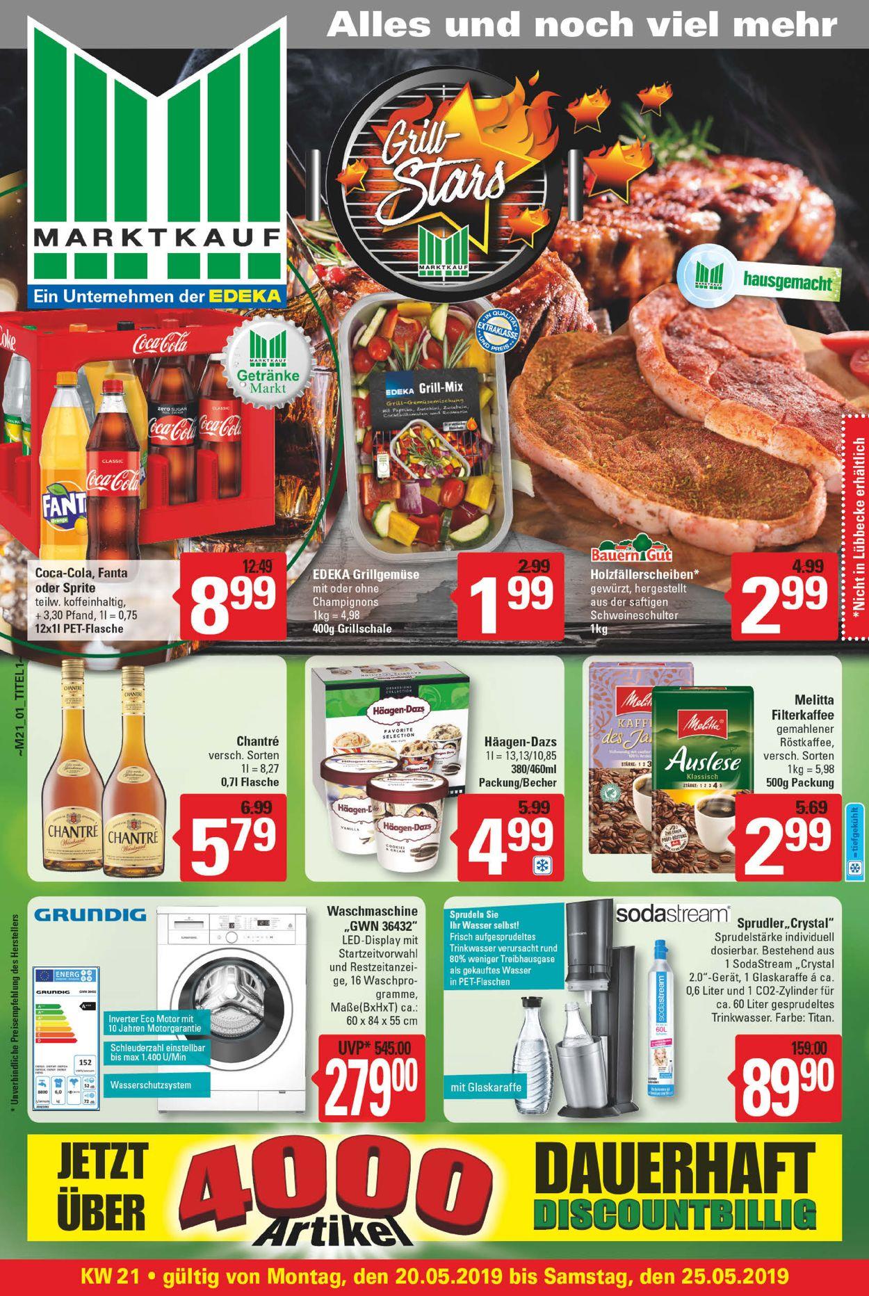 Marktkauf Prospekt - Aktuell vom 20.05-25.05.2019