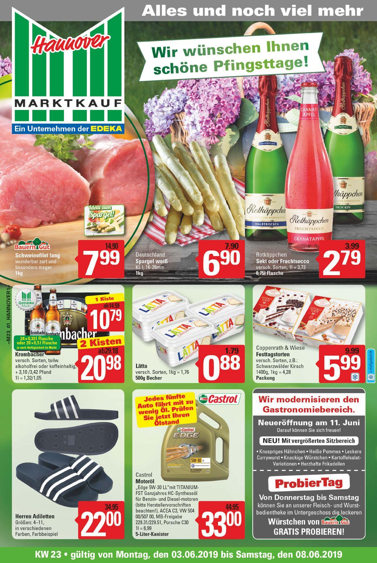 Marktkauf Prospekt - Aktuell vom 03.06-08.06.2019