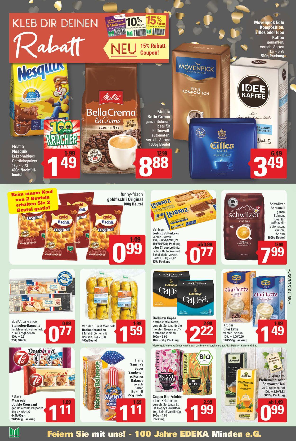 Marktkauf Prospekt - Aktuell vom 17.02-22.02.2020 (Seite 13)