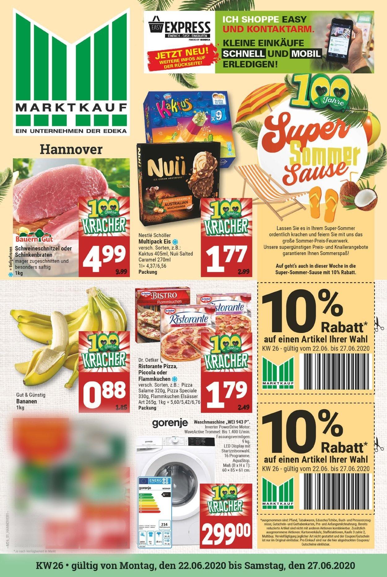 Marktkauf Prospekt - Aktuell vom 22.06-27.06.2020