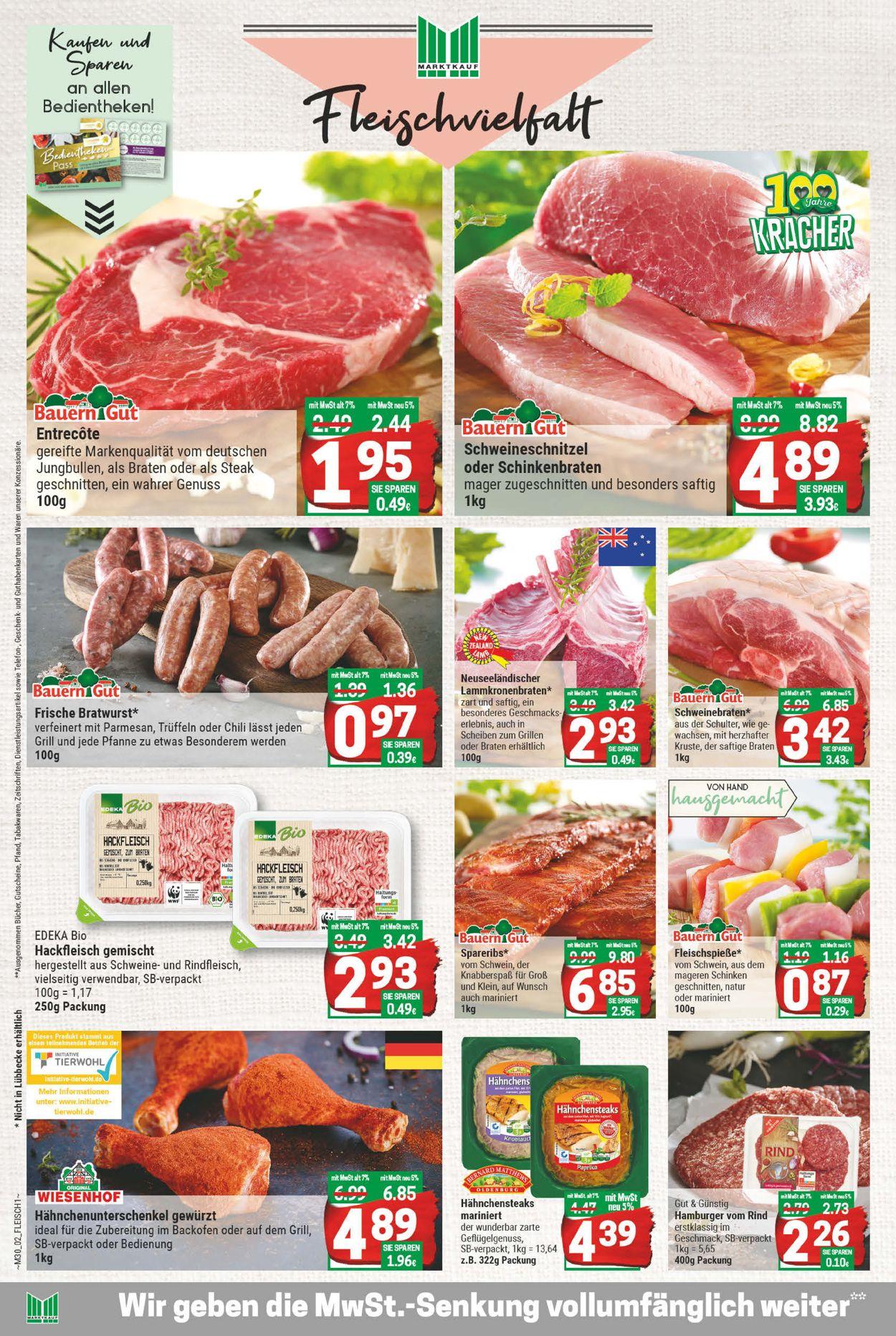 Marktkauf Prospekt - Aktuell vom 20.07-25.07.2020 (Seite 2)