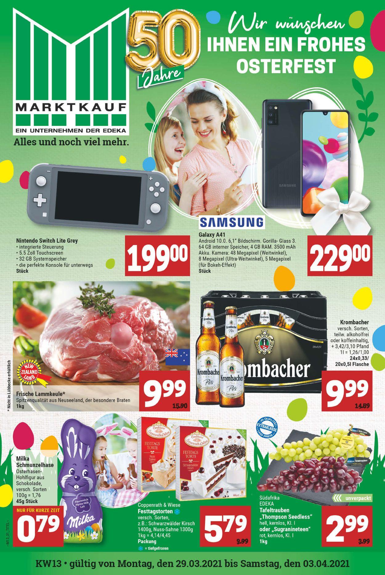 Marktkauf Ostern 2021 Prospekt - Aktuell vom 29.03-03.04.2021