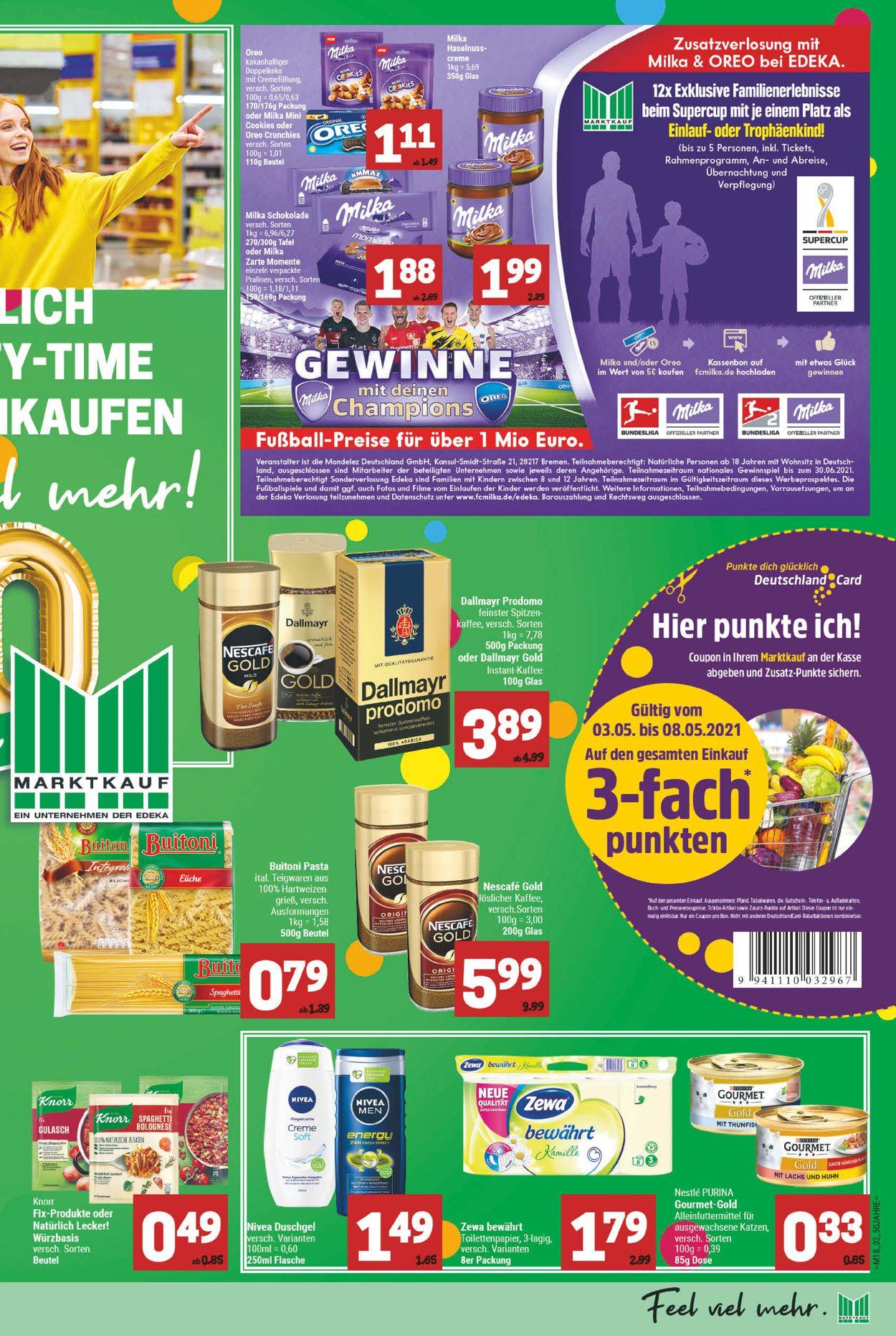 Marktkauf Prospekt - Aktuell vom 03.05-08.05.2021 (Seite 3)