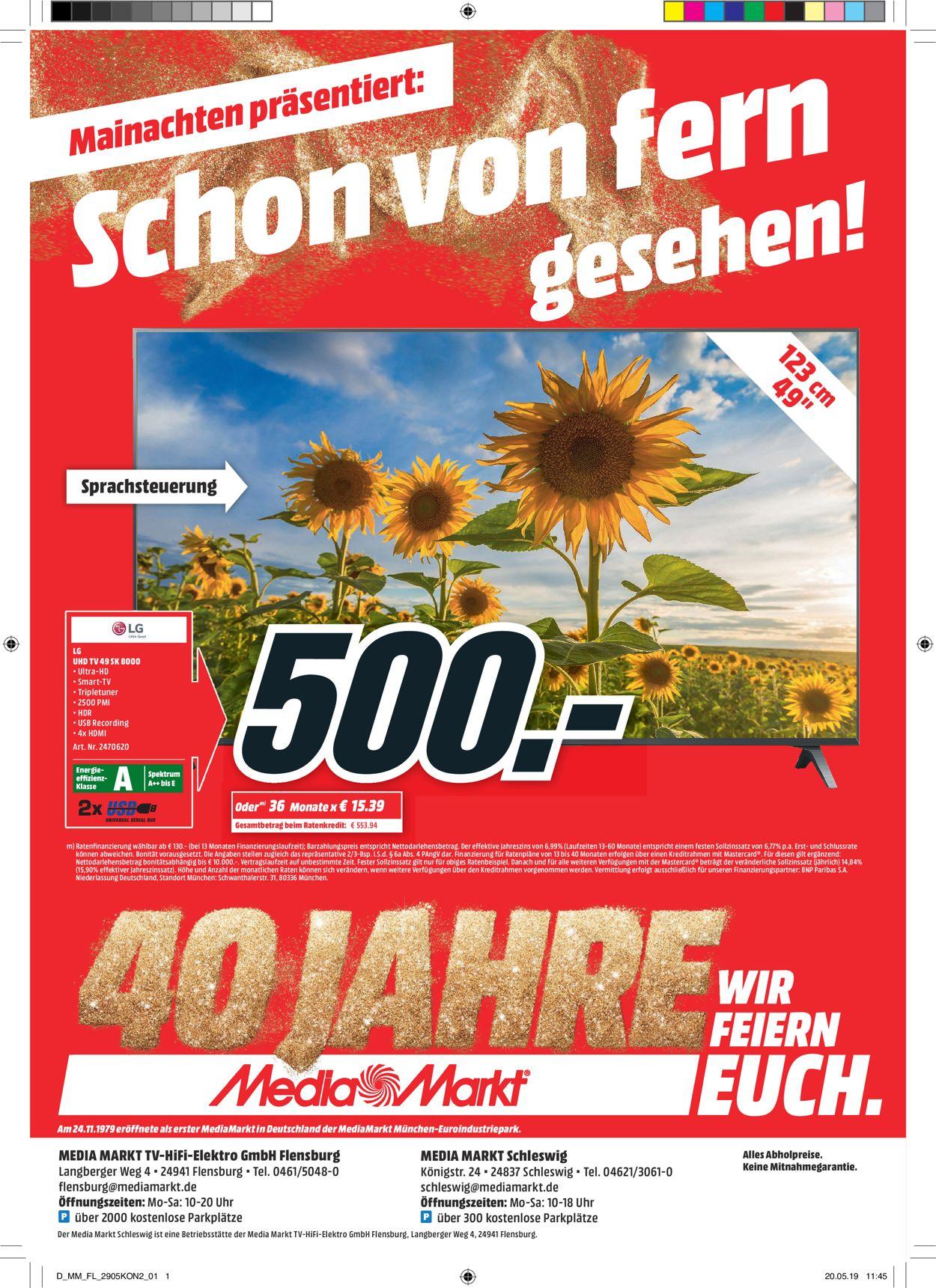 Media Markt Prospekt - Aktuell vom 29.05-31.05.2019