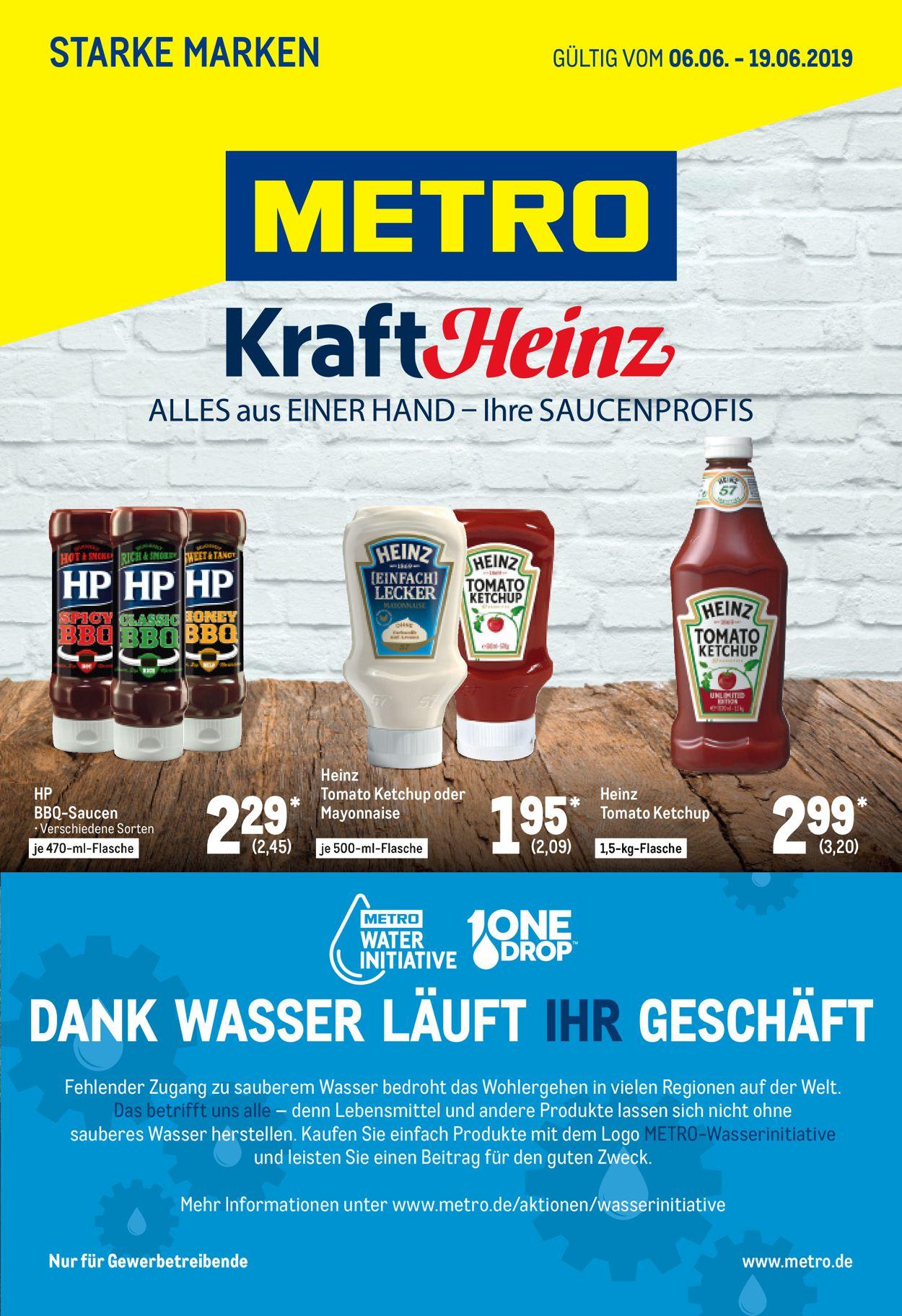 Metro Prospekt - Aktuell vom 06.06-19.06.2019