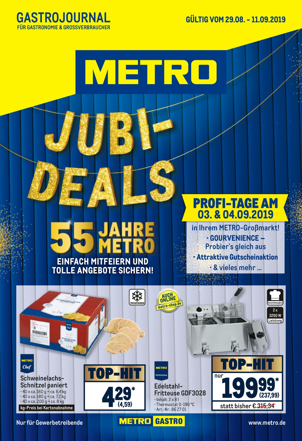 Metro Prospekt - Aktuell vom 29.08-11.09.2019