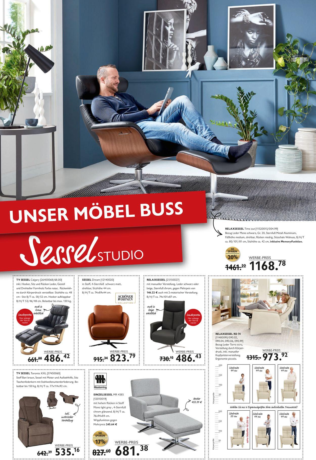 Möbel Buss Prospekt - Aktuell vom 08.10-14.10.2020 (Seite 2)