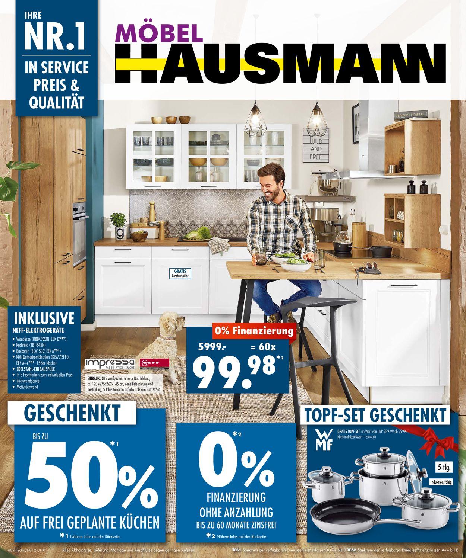 Möbel Hausmann Prospekt - Aktuell vom 08.03-21.03.2021