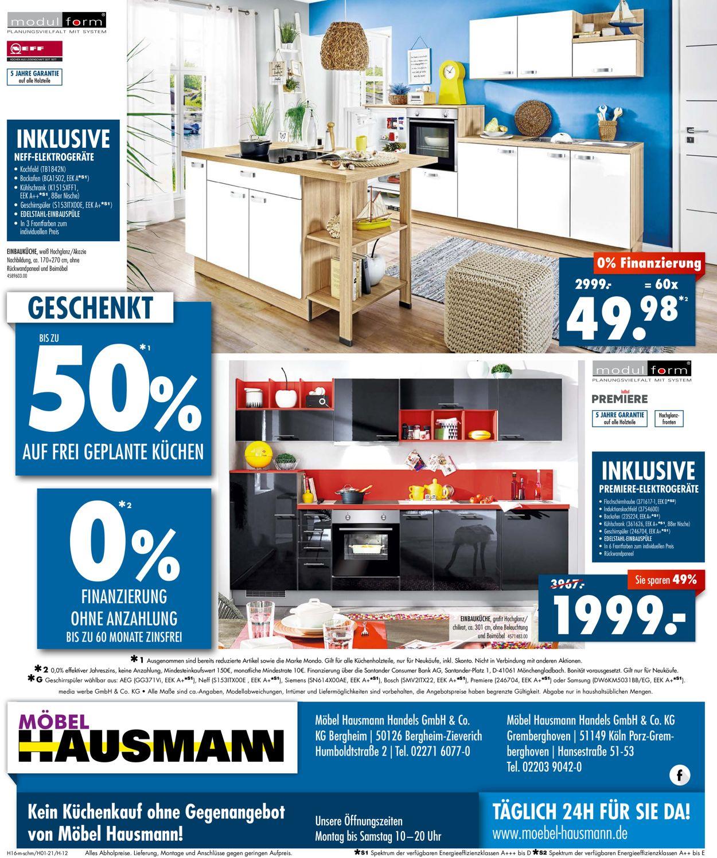 Möbel Hausmann Prospekt - Aktuell vom 08.03-21.03.2021 (Seite 12)