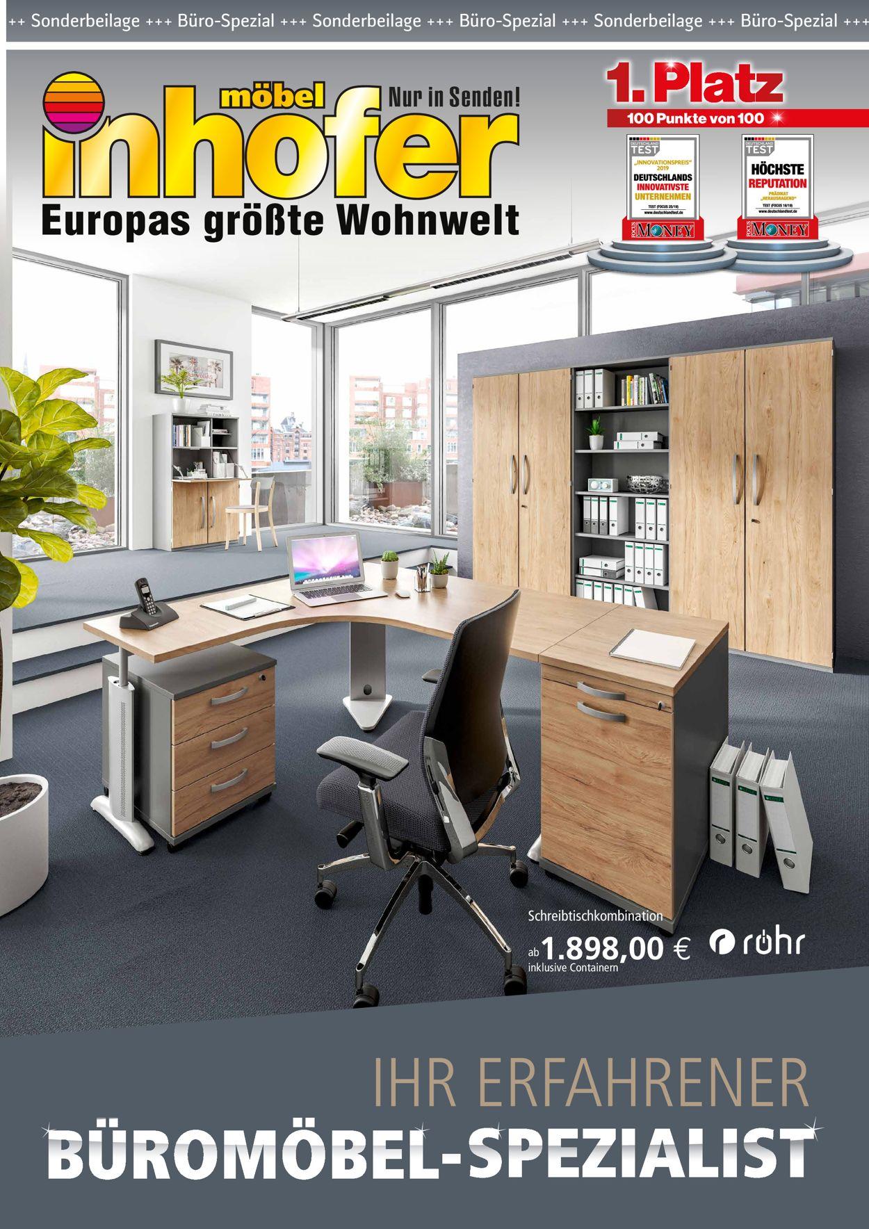Möbel Inhofer Prospekt - Aktuell vom 19.10-07.11.2020