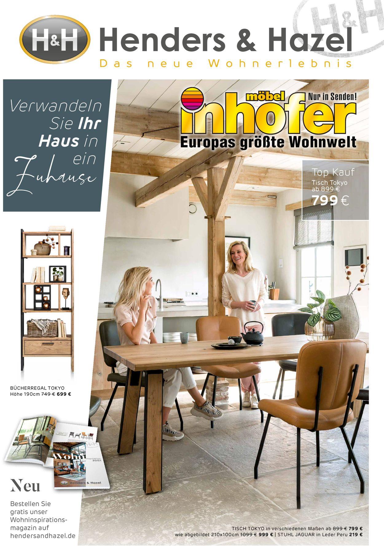 Möbel Inhofer Prospekt - Aktuell vom 03.11-21.11.2020